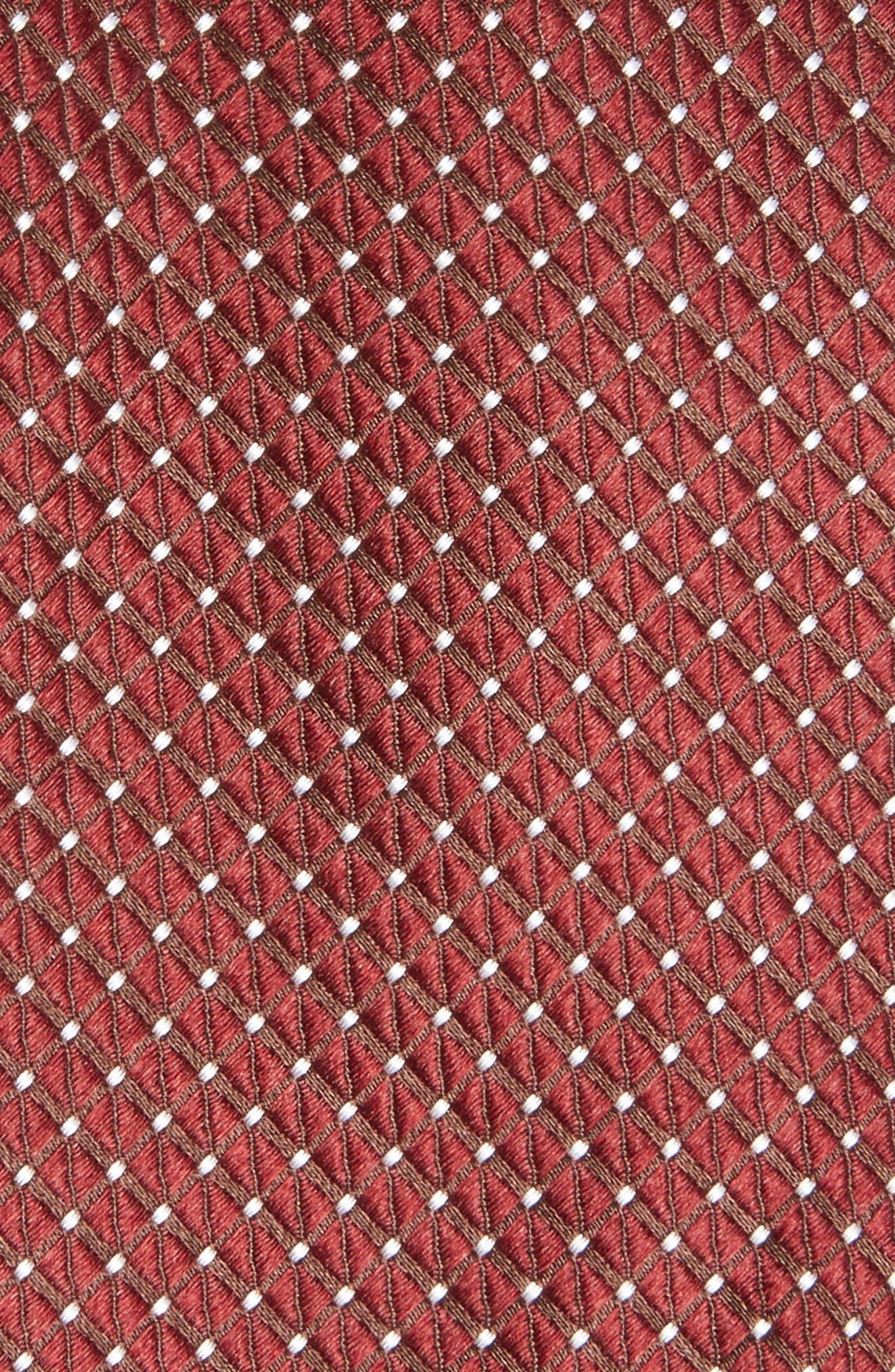 Nordstrom Men's Shop Hammond Neat Silk Tie,                             Alternate thumbnail 10, color,