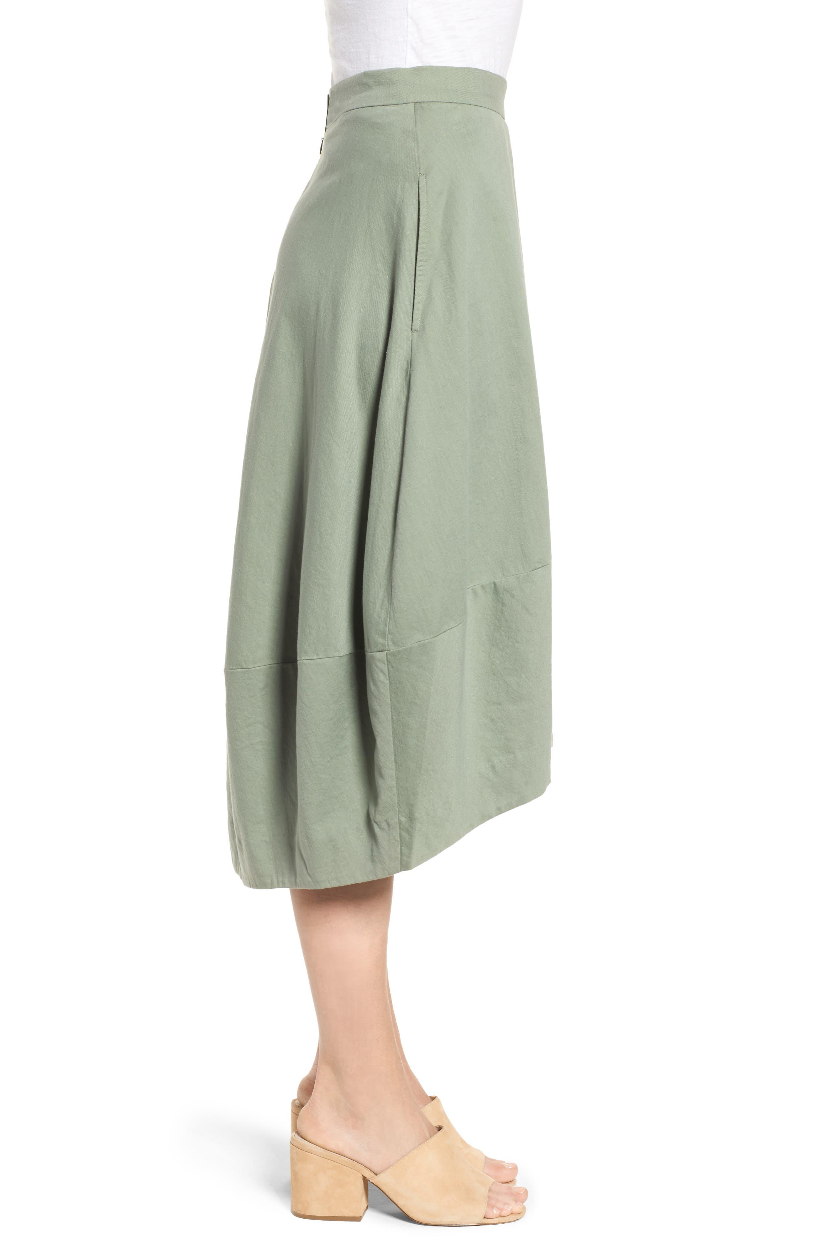 Organic Cotton Lantern Skirt,                             Alternate thumbnail 10, color,