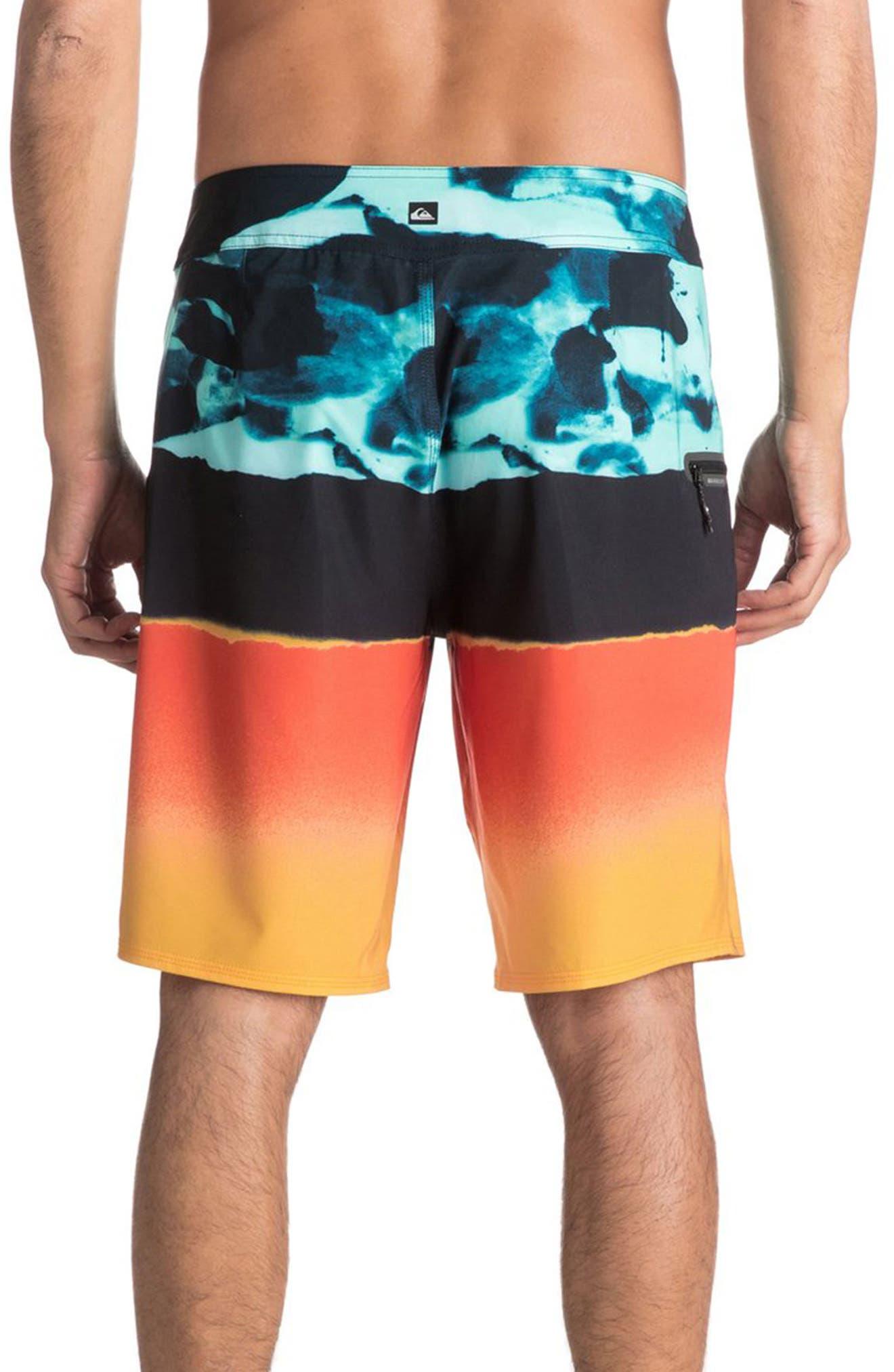 Blocked Resin Board Shorts,                             Alternate thumbnail 6, color,