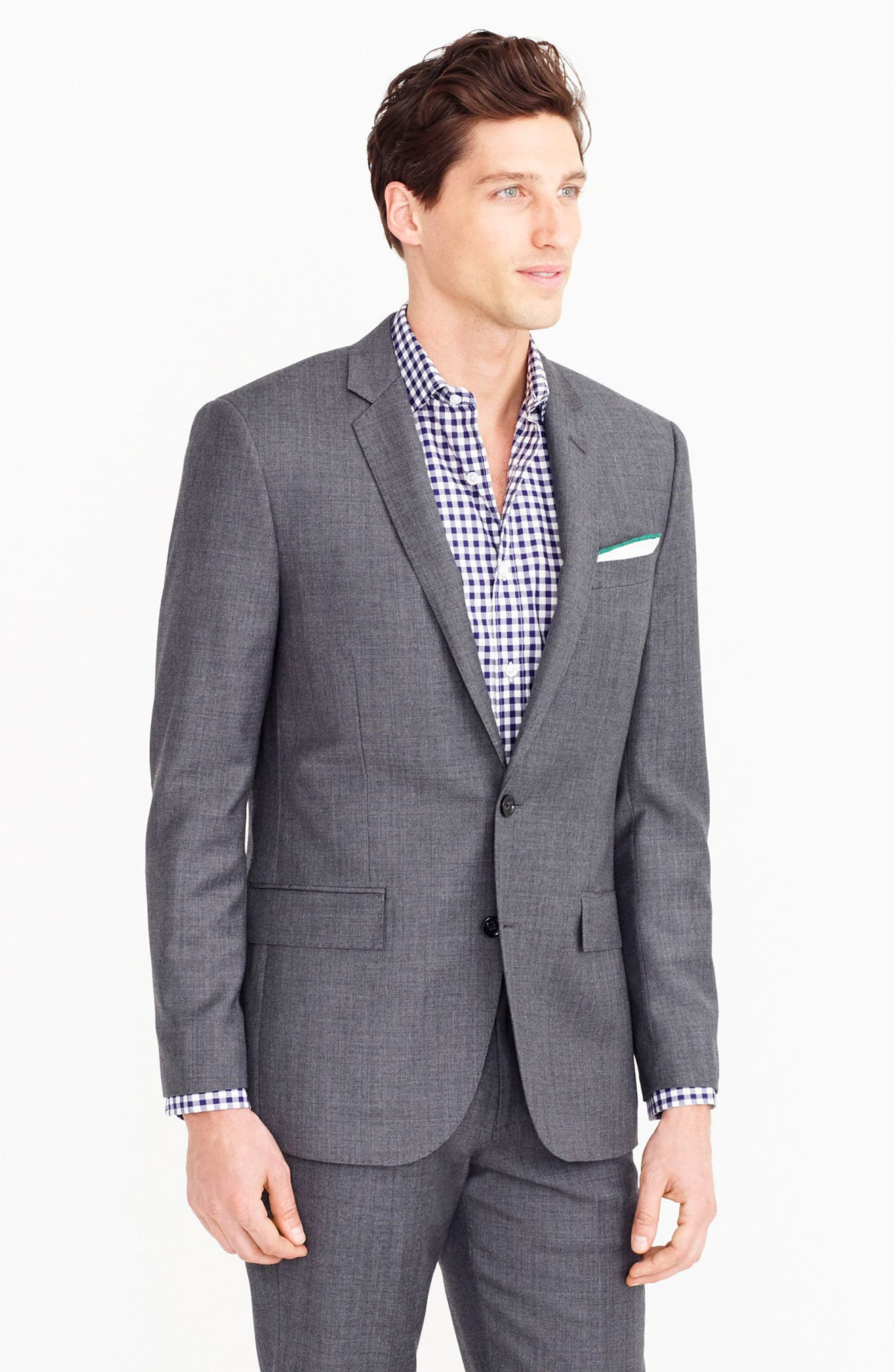 Ludlow Trim Fit Solid Wool Sport Coat,                             Alternate thumbnail 11, color,                             020