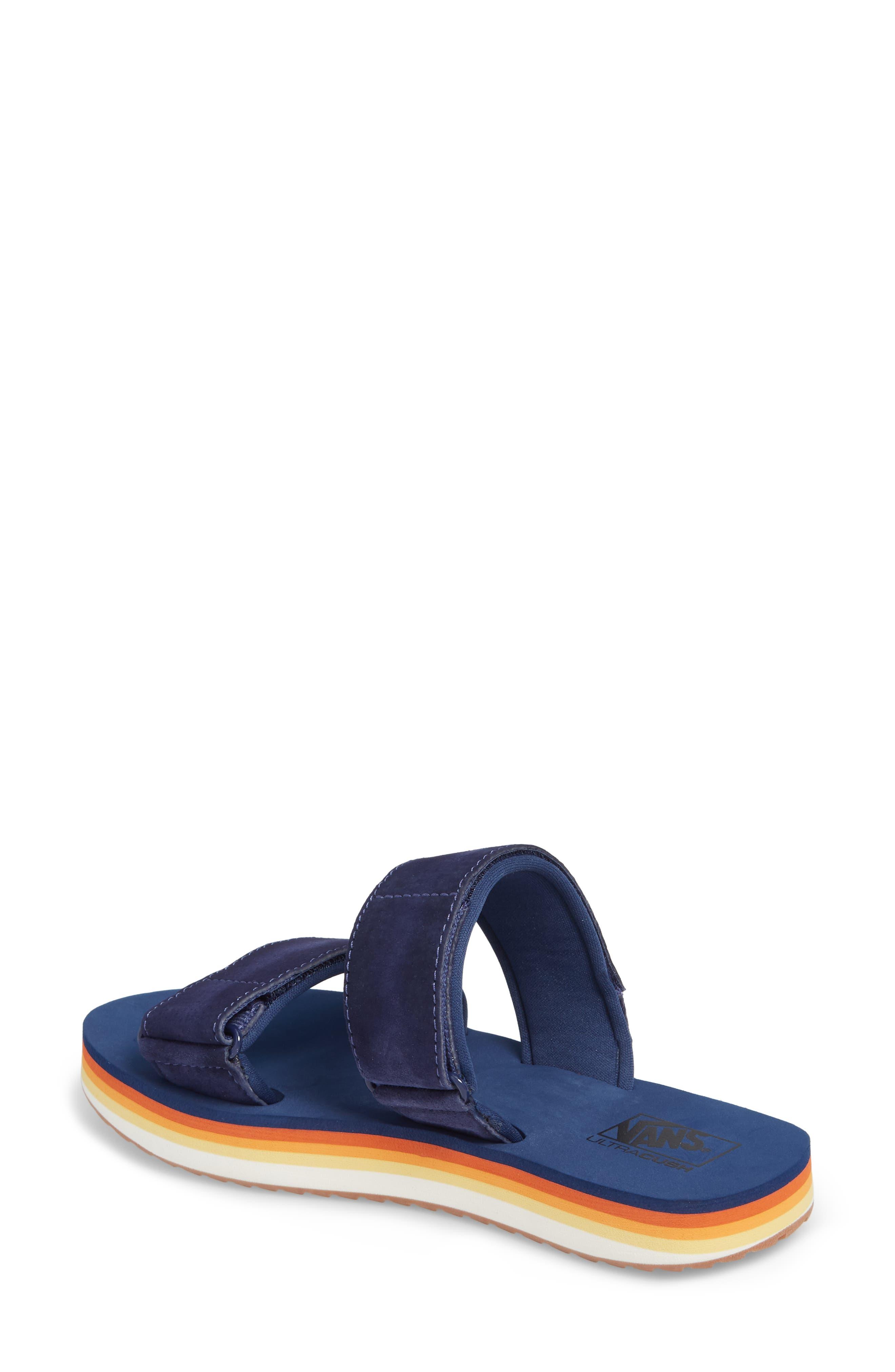 Cayucas Platform Slide Sandal,                             Alternate thumbnail 2, color,