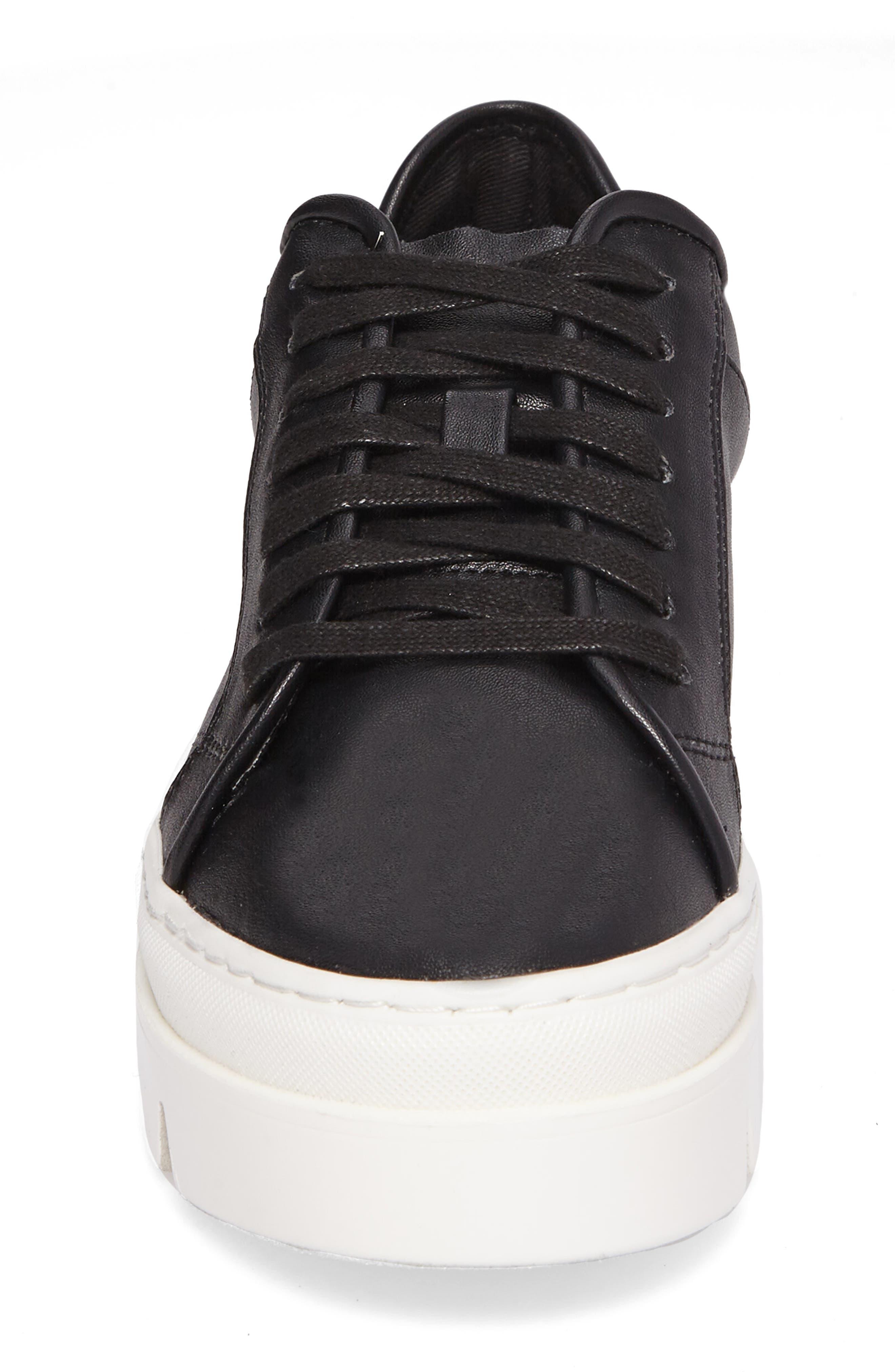 Kickstart Platform Sneaker,                             Alternate thumbnail 4, color,                             001