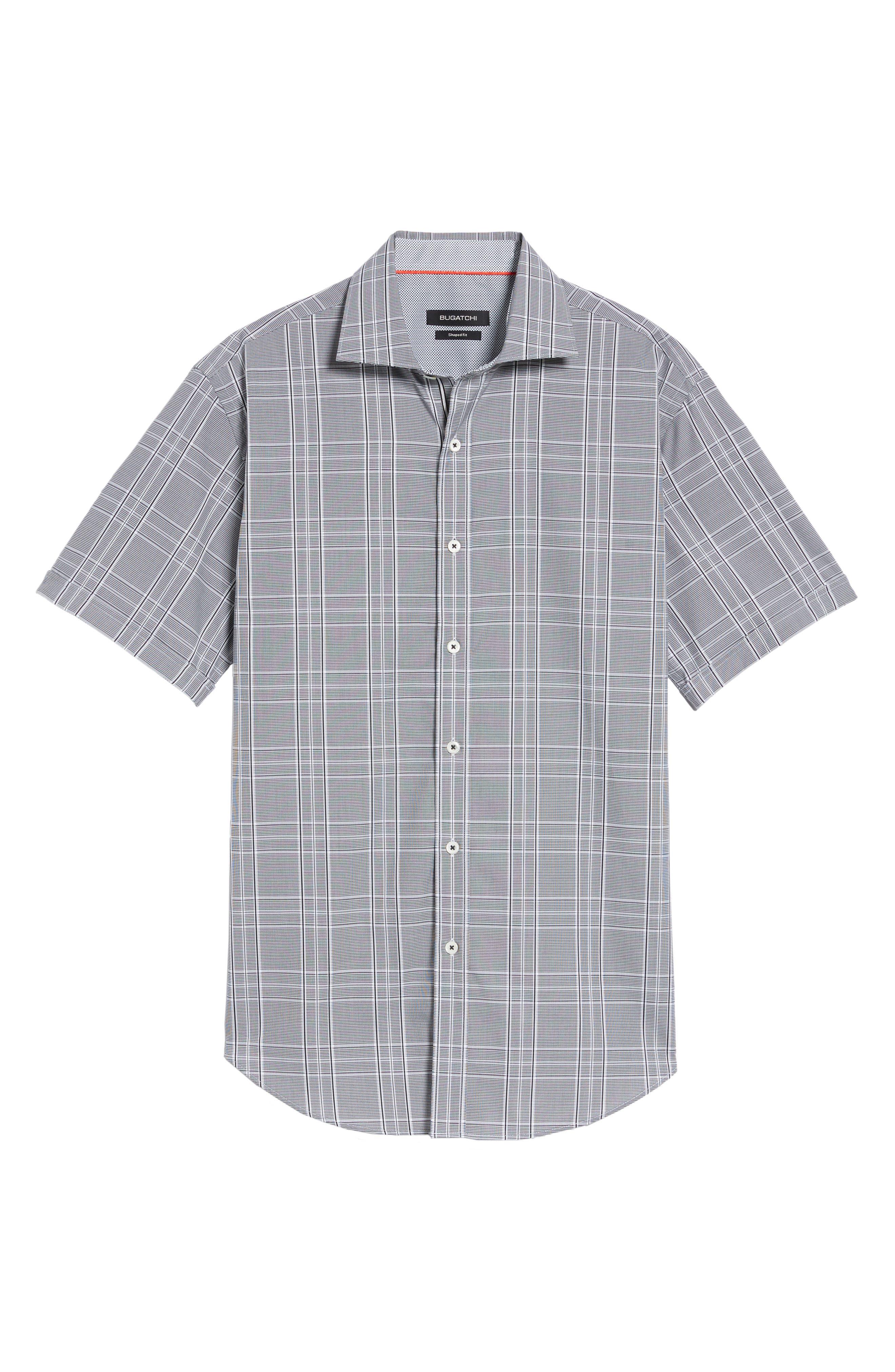 Shaped Fit Sport Shirt,                             Alternate thumbnail 6, color,                             001