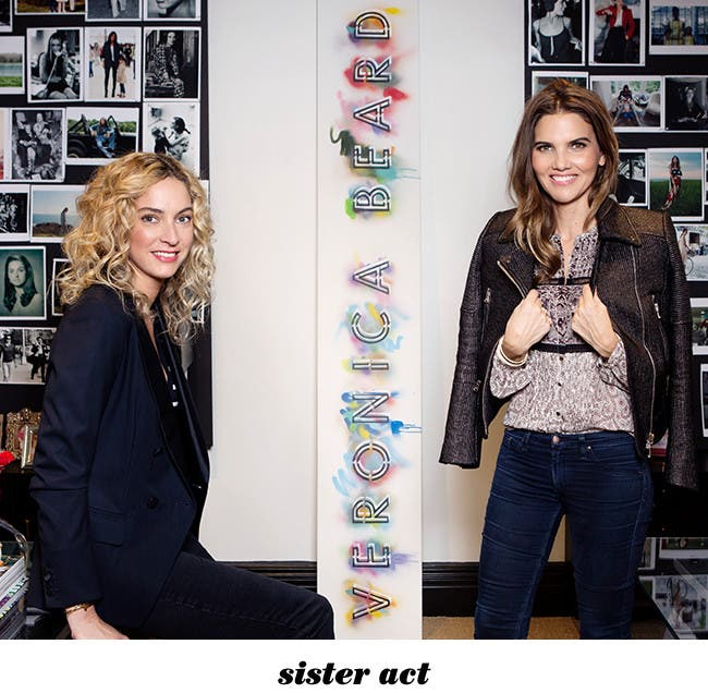 Sister act: an interview with Veronica Miele Beard and Veronica Swanson Beard.