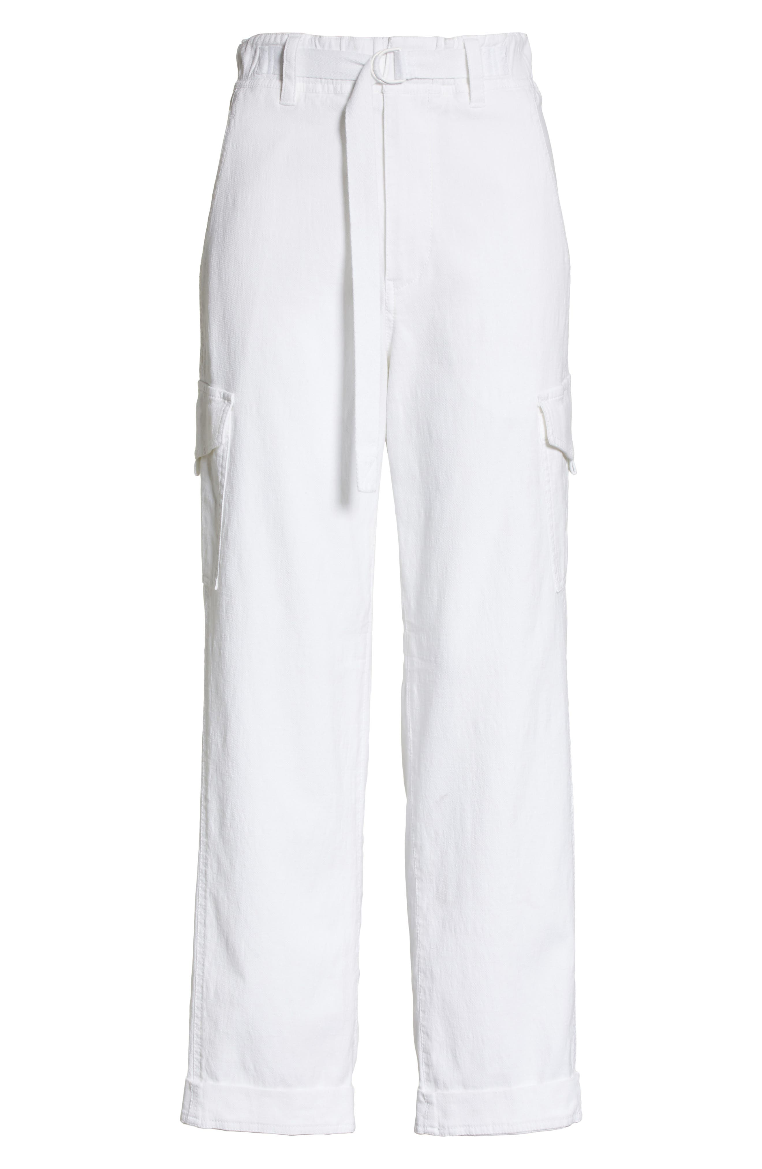 Tapered Utility Stretch Cotton Pants,                             Alternate thumbnail 6, color,                             137