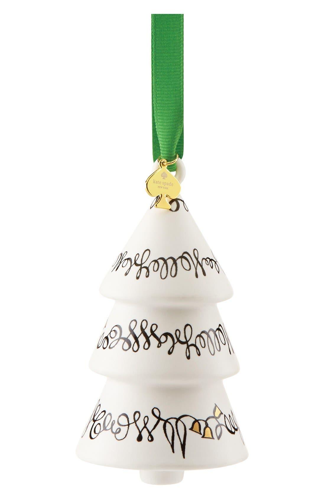 'woodland park' porcelain tree ornament,                             Alternate thumbnail 2, color,                             100