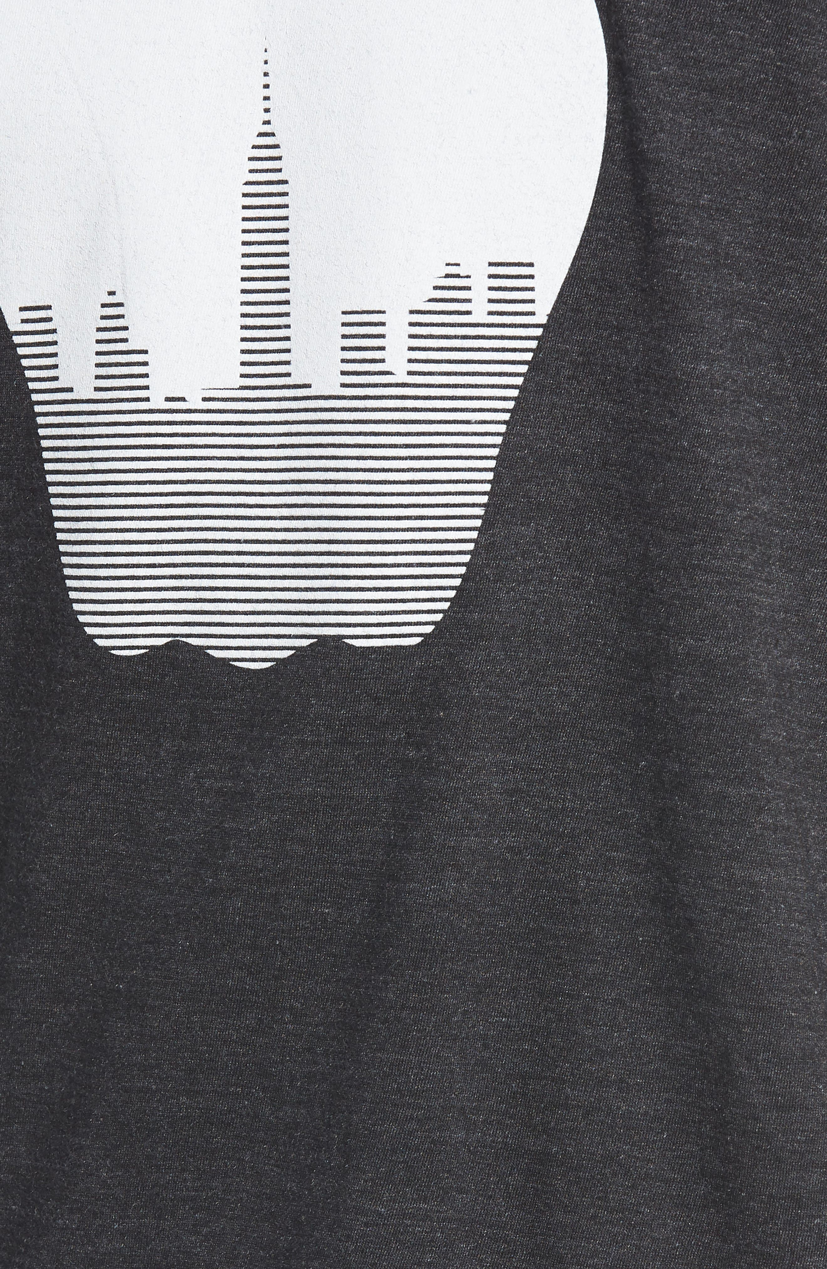 NY Apple Graphic T-Shirt,                             Alternate thumbnail 5, color,                             002