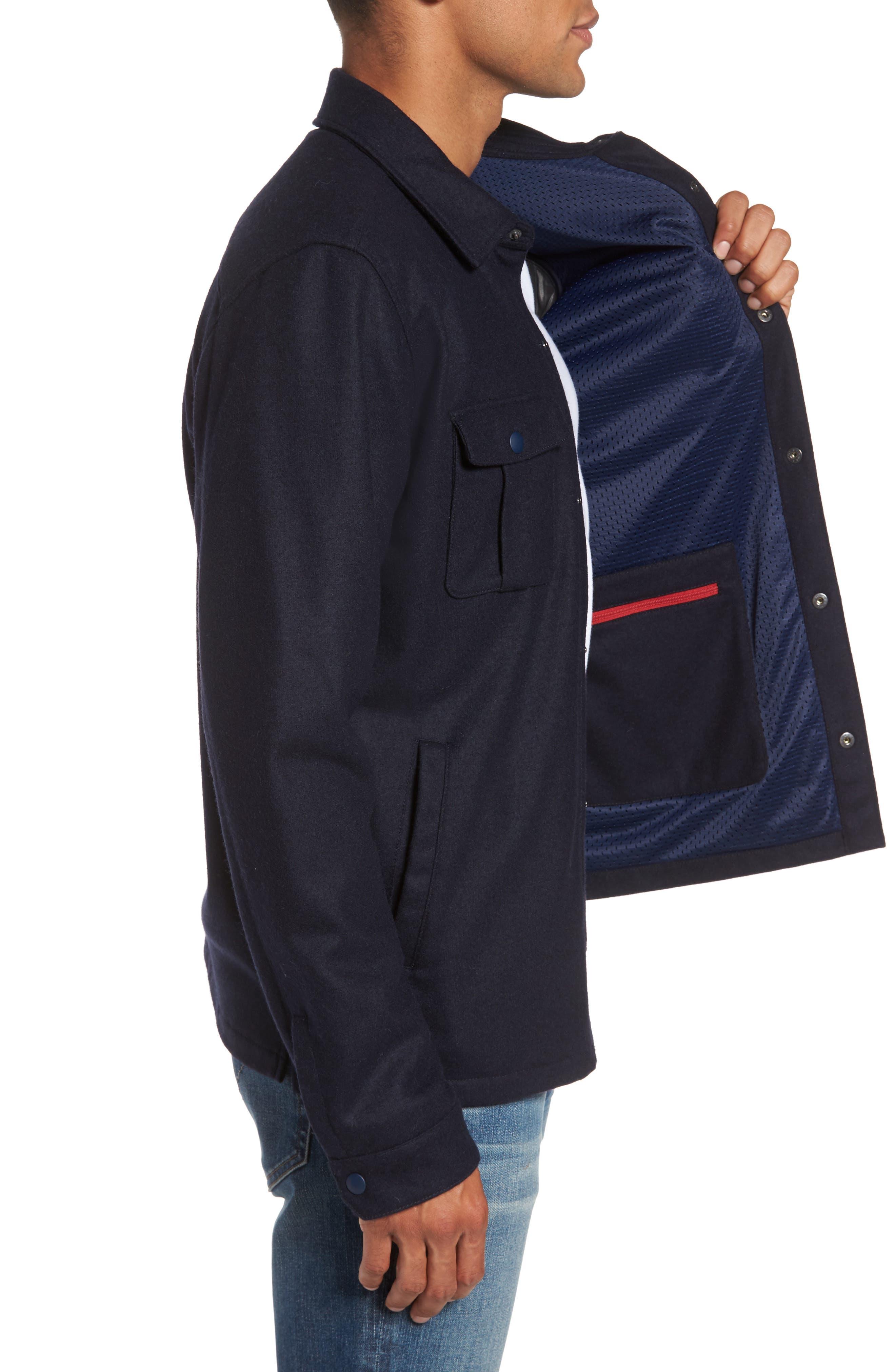 Seymour Shirt Jacket,                             Alternate thumbnail 3, color,                             410