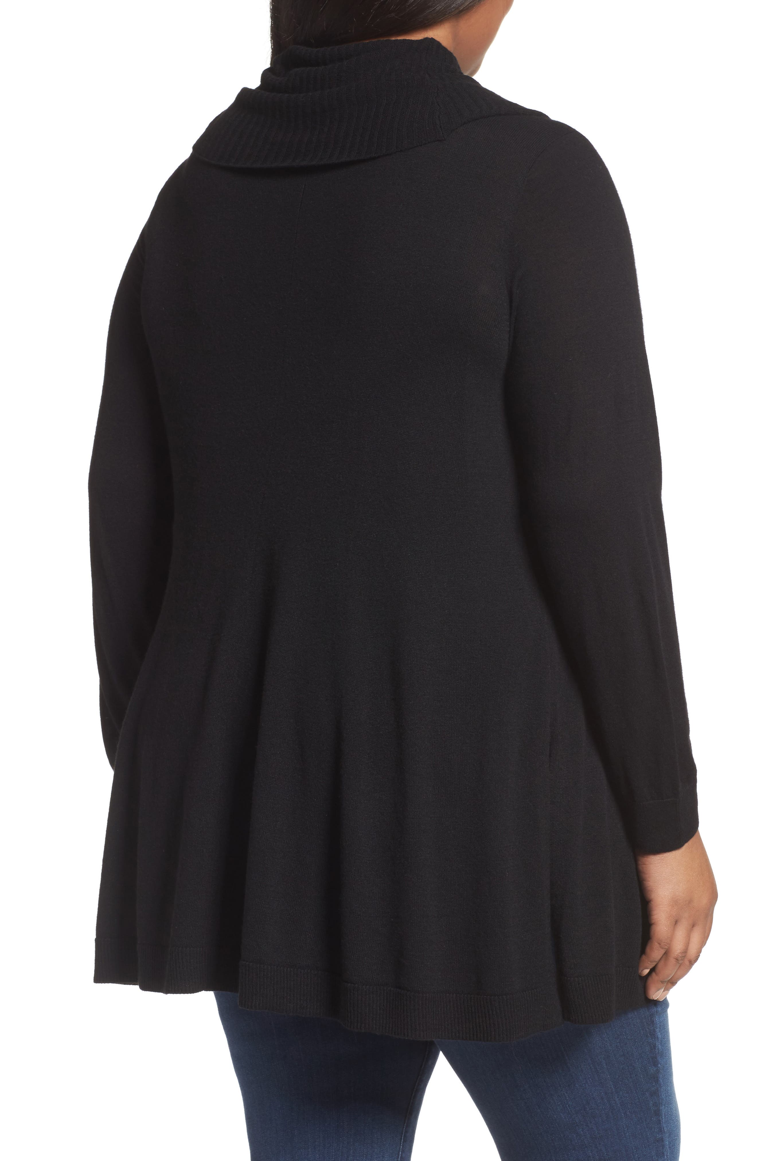 Cowl Neck Tunic,                             Alternate thumbnail 3, color,