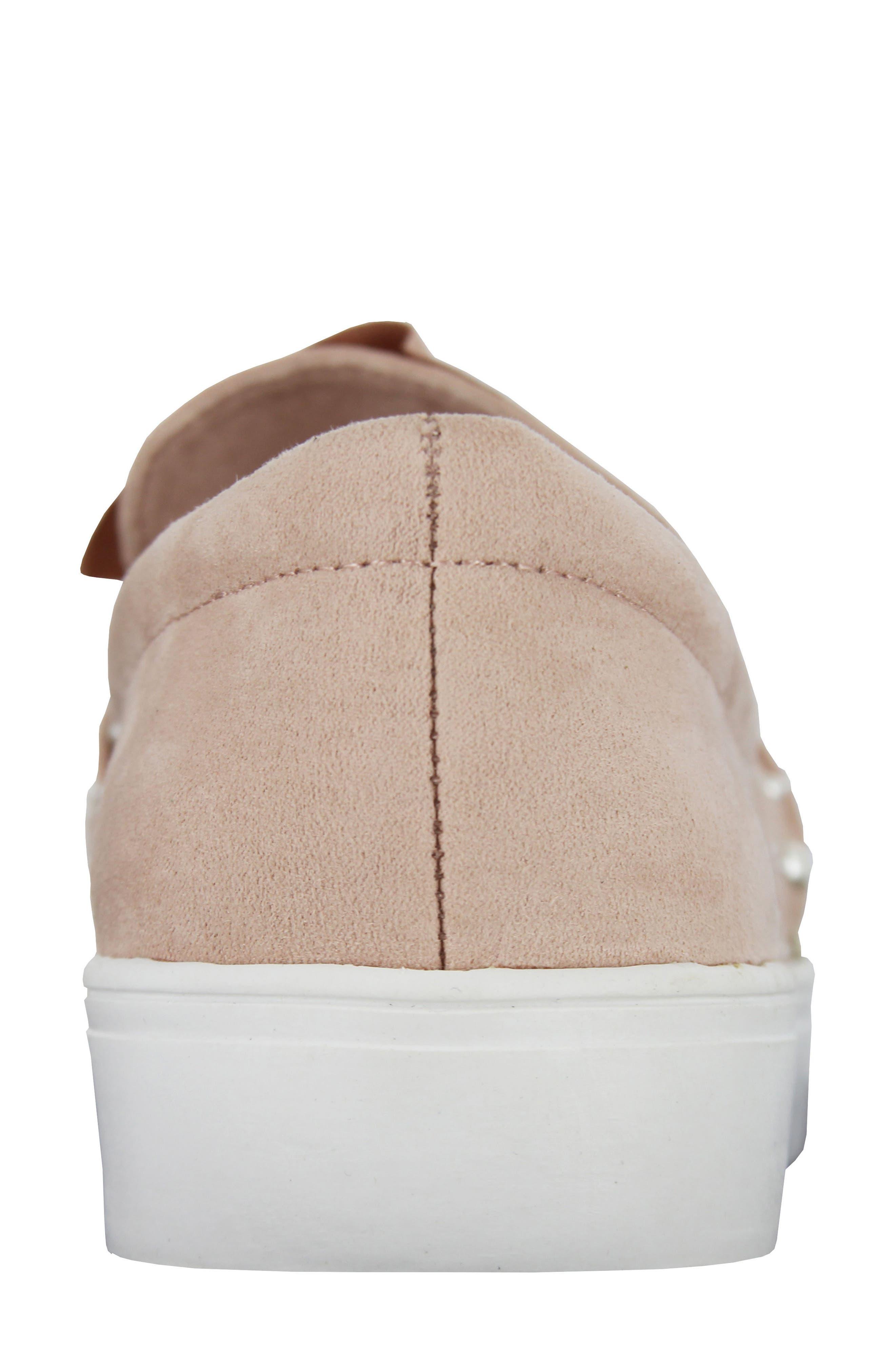 Aretha Embellished Slip-On Sneaker,                             Alternate thumbnail 8, color,