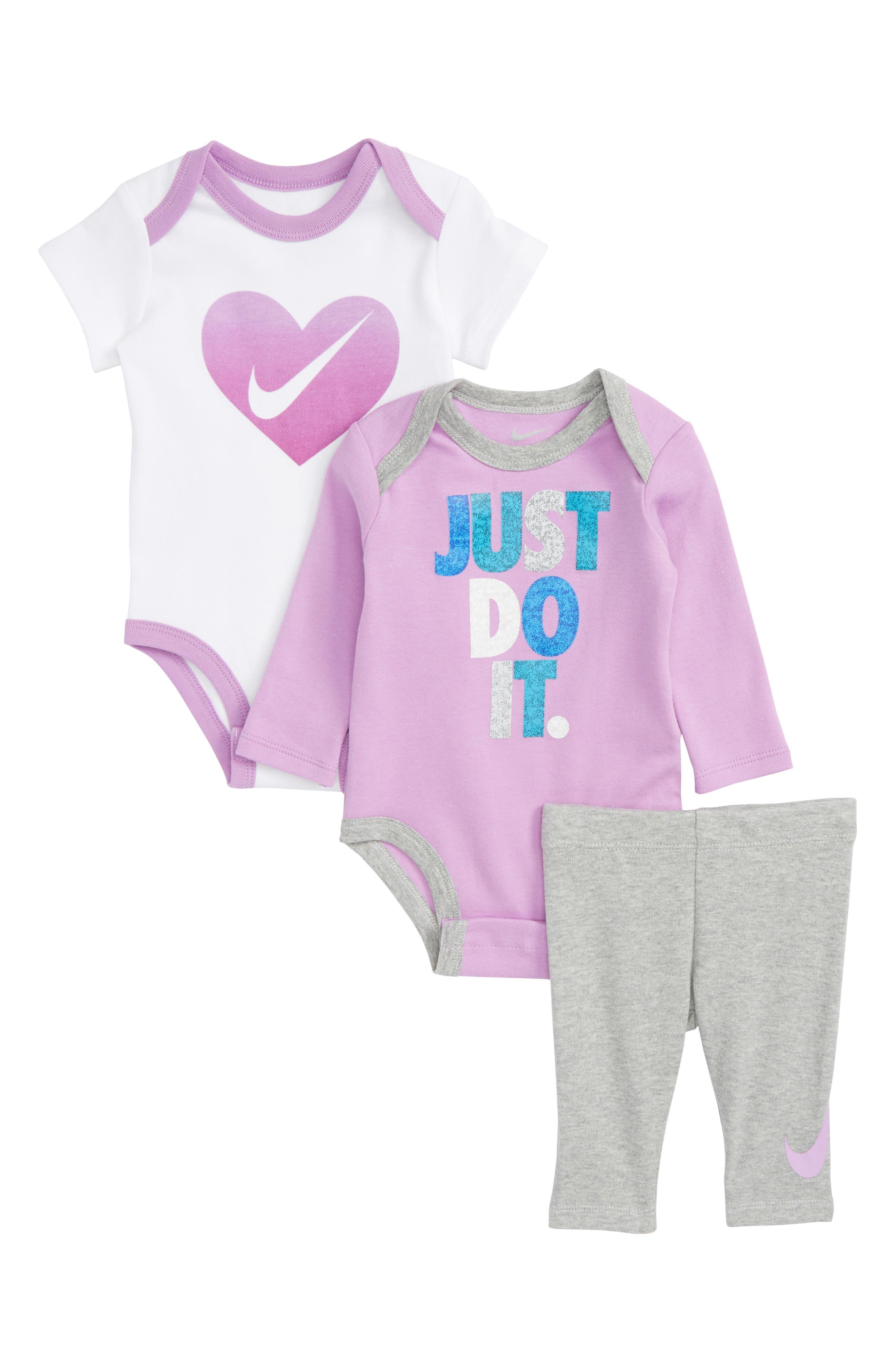 3-Piece Bodysuit & Pants Set,                         Main,                         color, 088