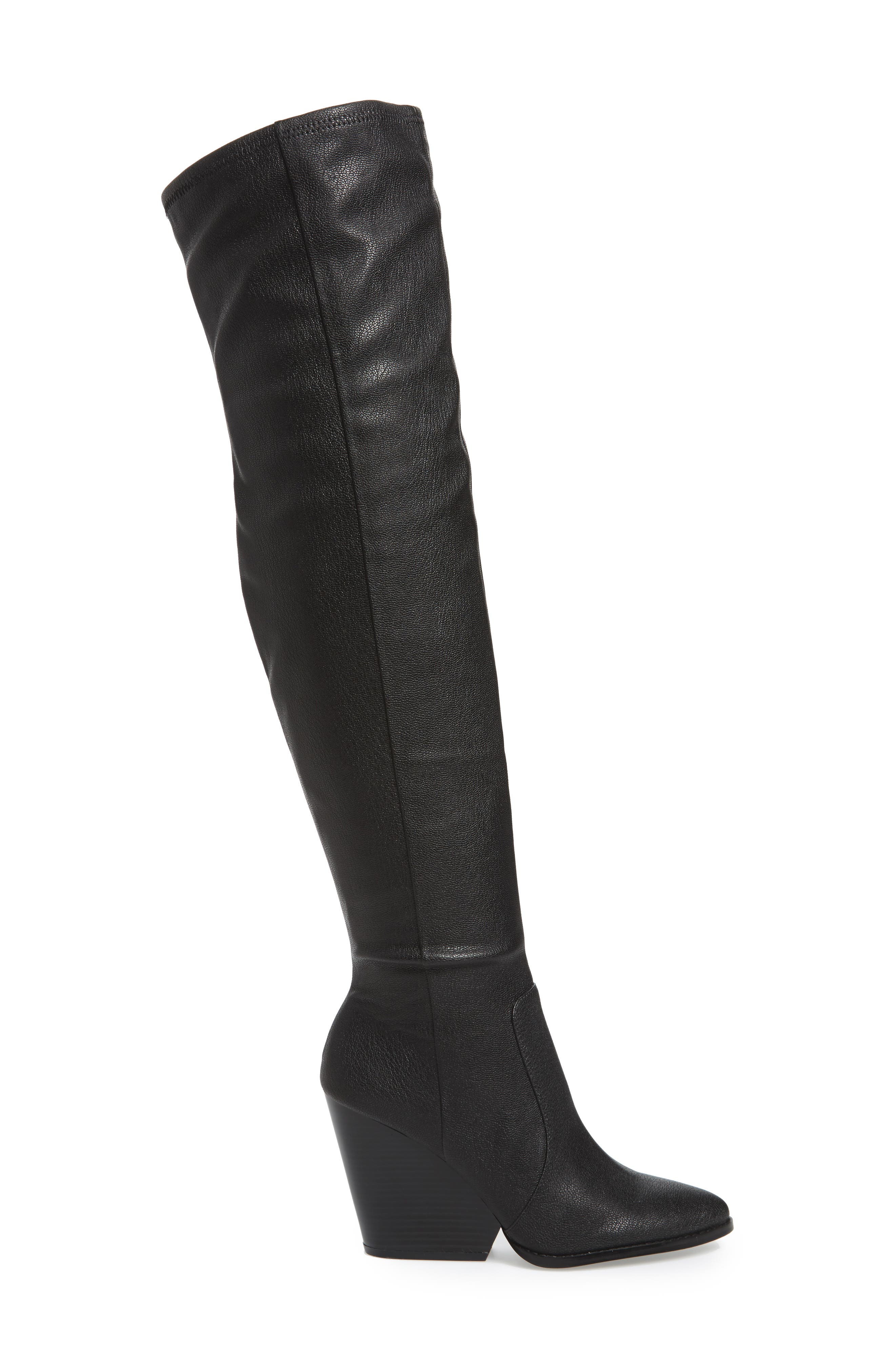 Catia Over the Knee Boot,                             Alternate thumbnail 3, color,                             001