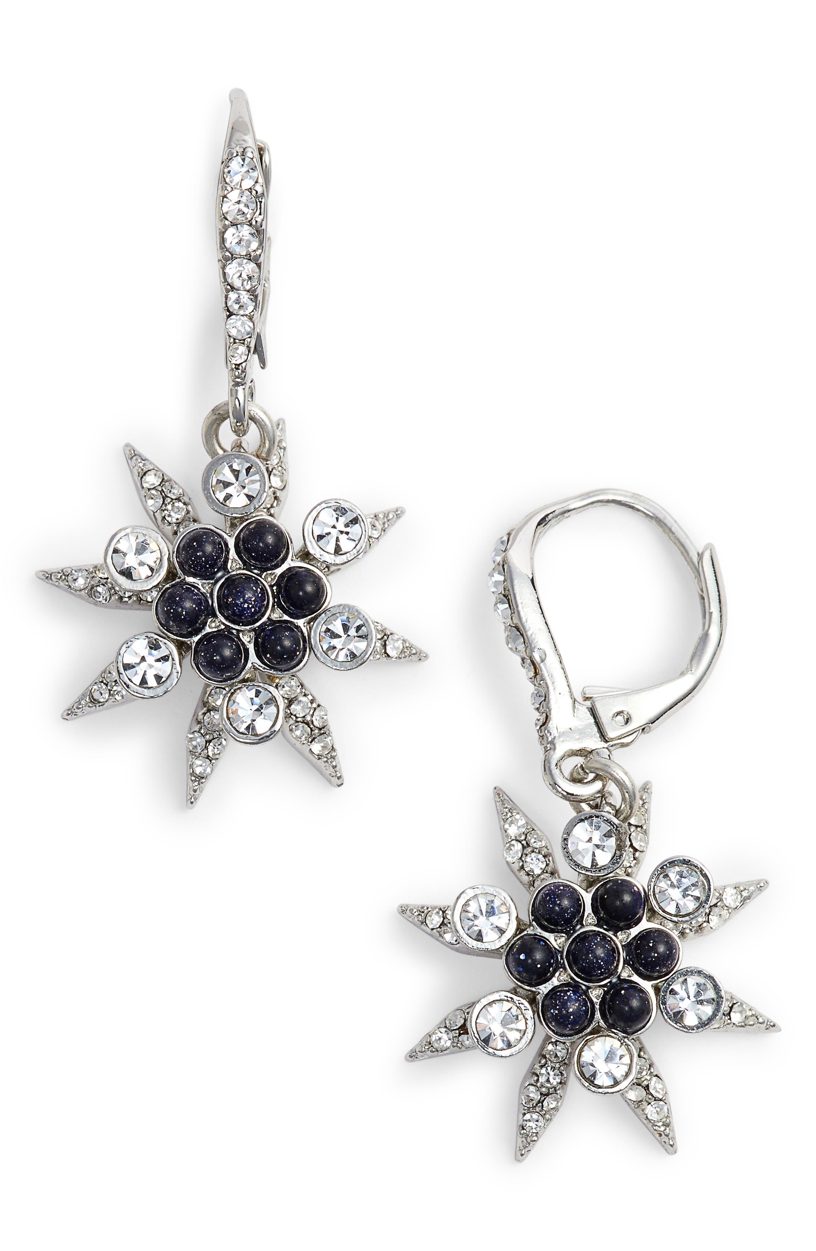 Star Cluster Drop Earrings,                         Main,                         color, 040