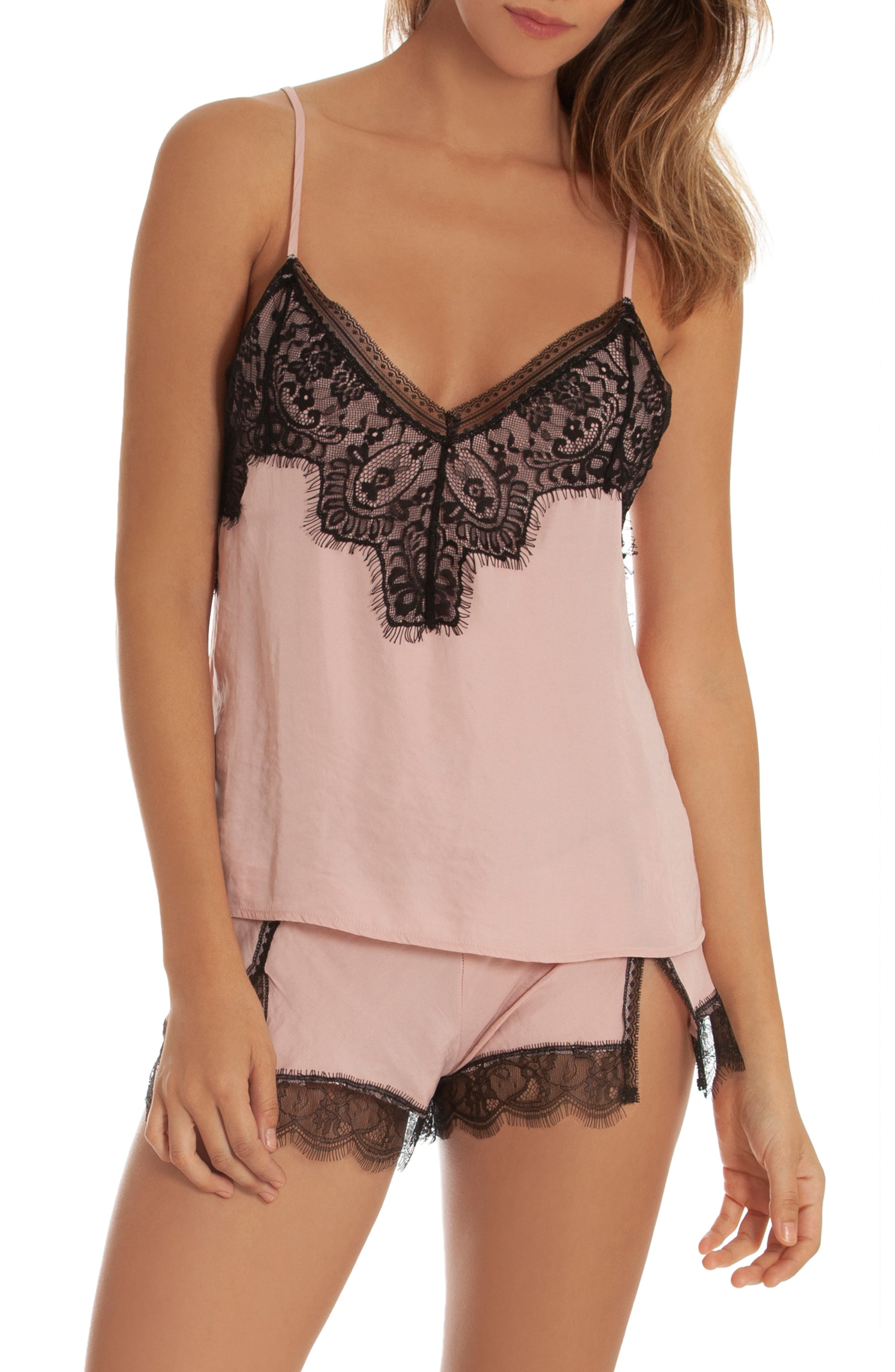 IN BLOOM BY JONQUIL Your Eyes Short Pajamas, Main, color, BLUSH