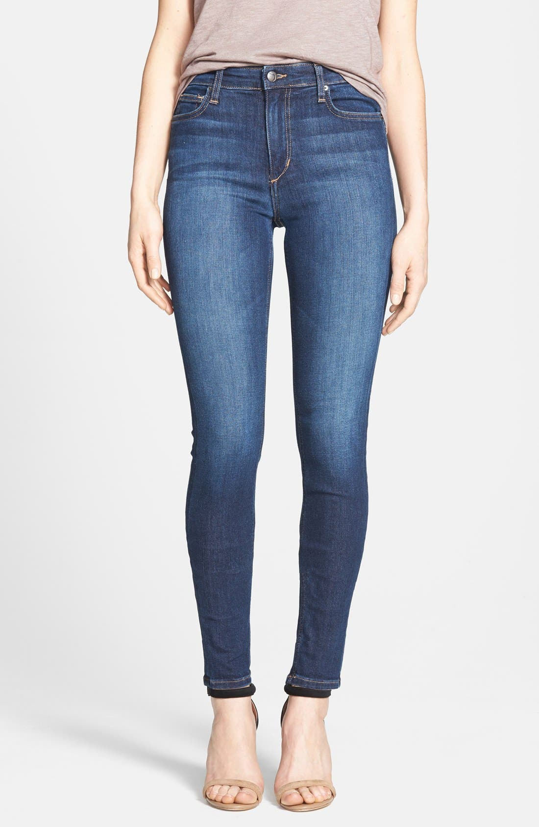 'Flawless' High Rise Skinny Jeans,                             Main thumbnail 1, color,                             400