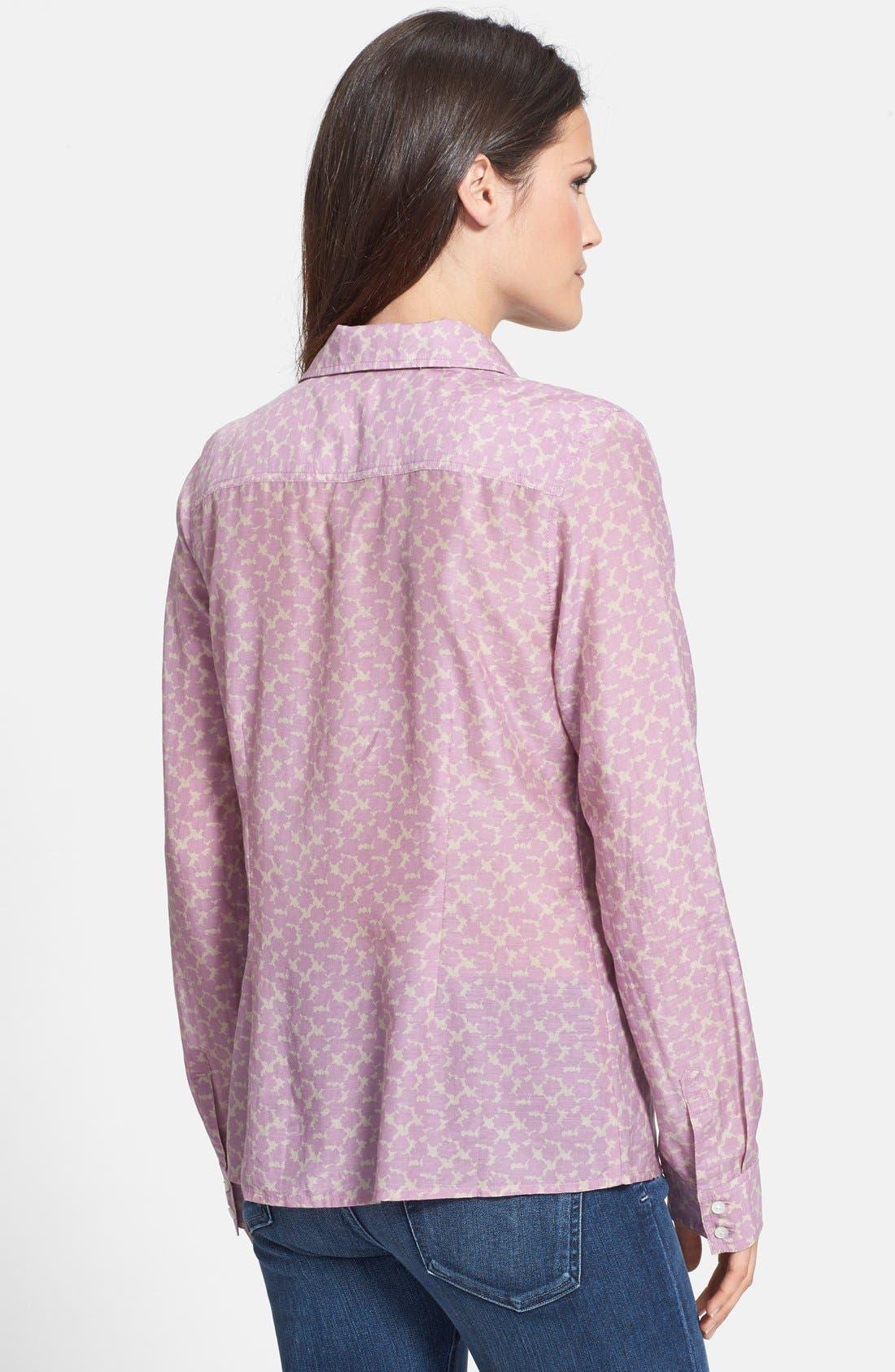 Cotton & Silk Shirt,                             Alternate thumbnail 125, color,