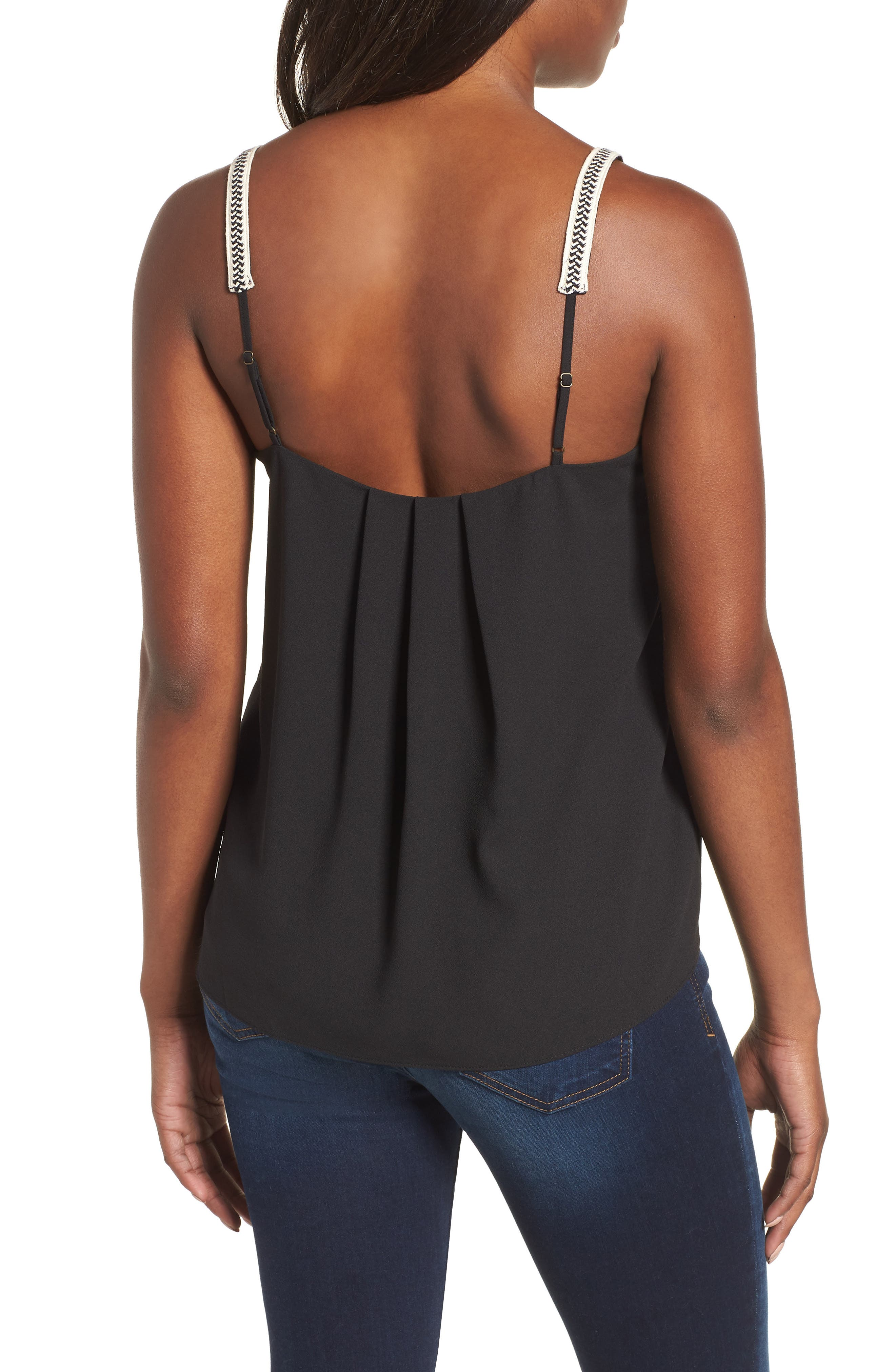 1.STATE,                             Embroidered Strap Camisole,                             Alternate thumbnail 2, color,                             006