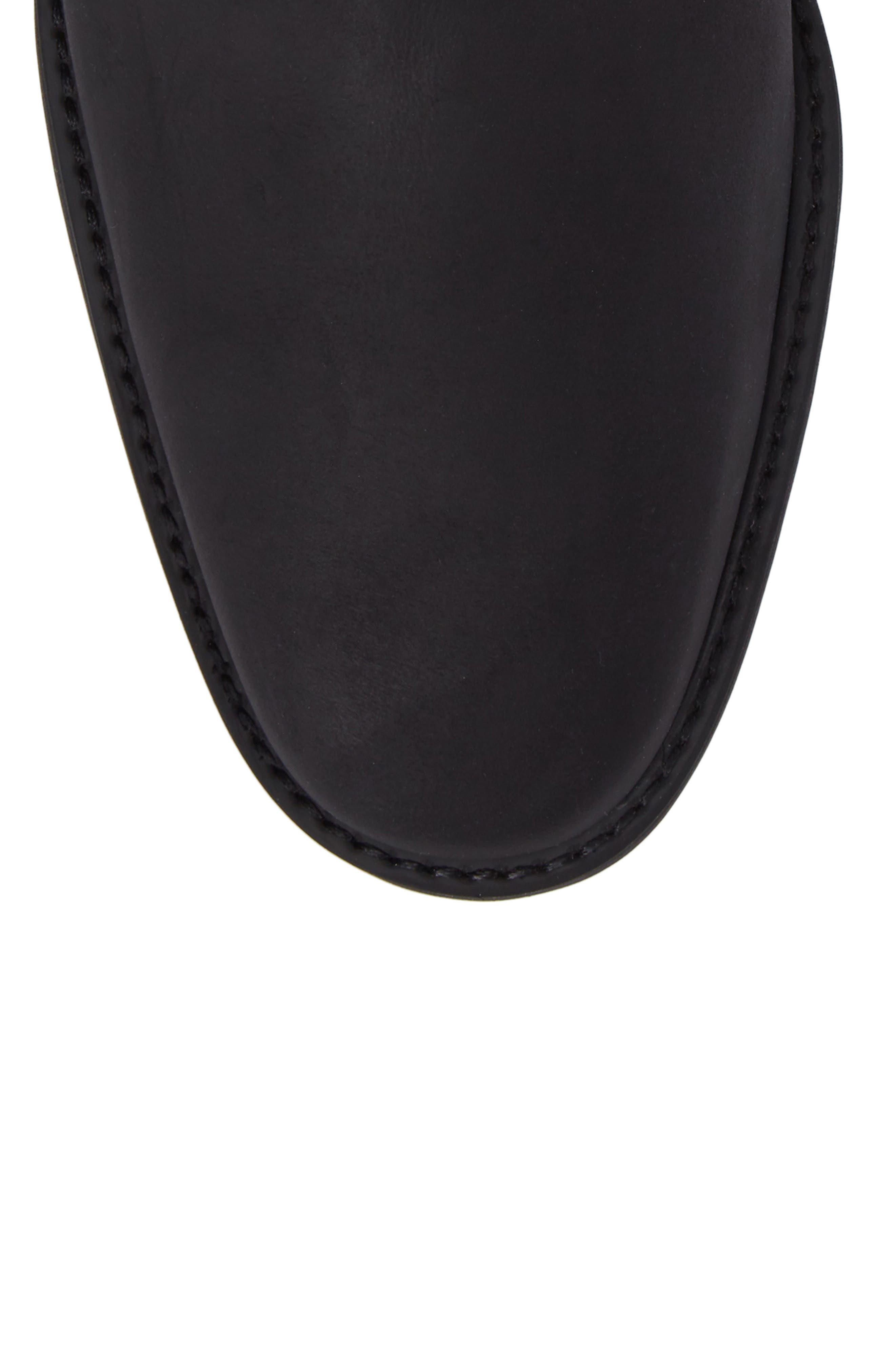 Cardoso Chelsea Boot,                             Alternate thumbnail 5, color,                             MUSTANG BLACK