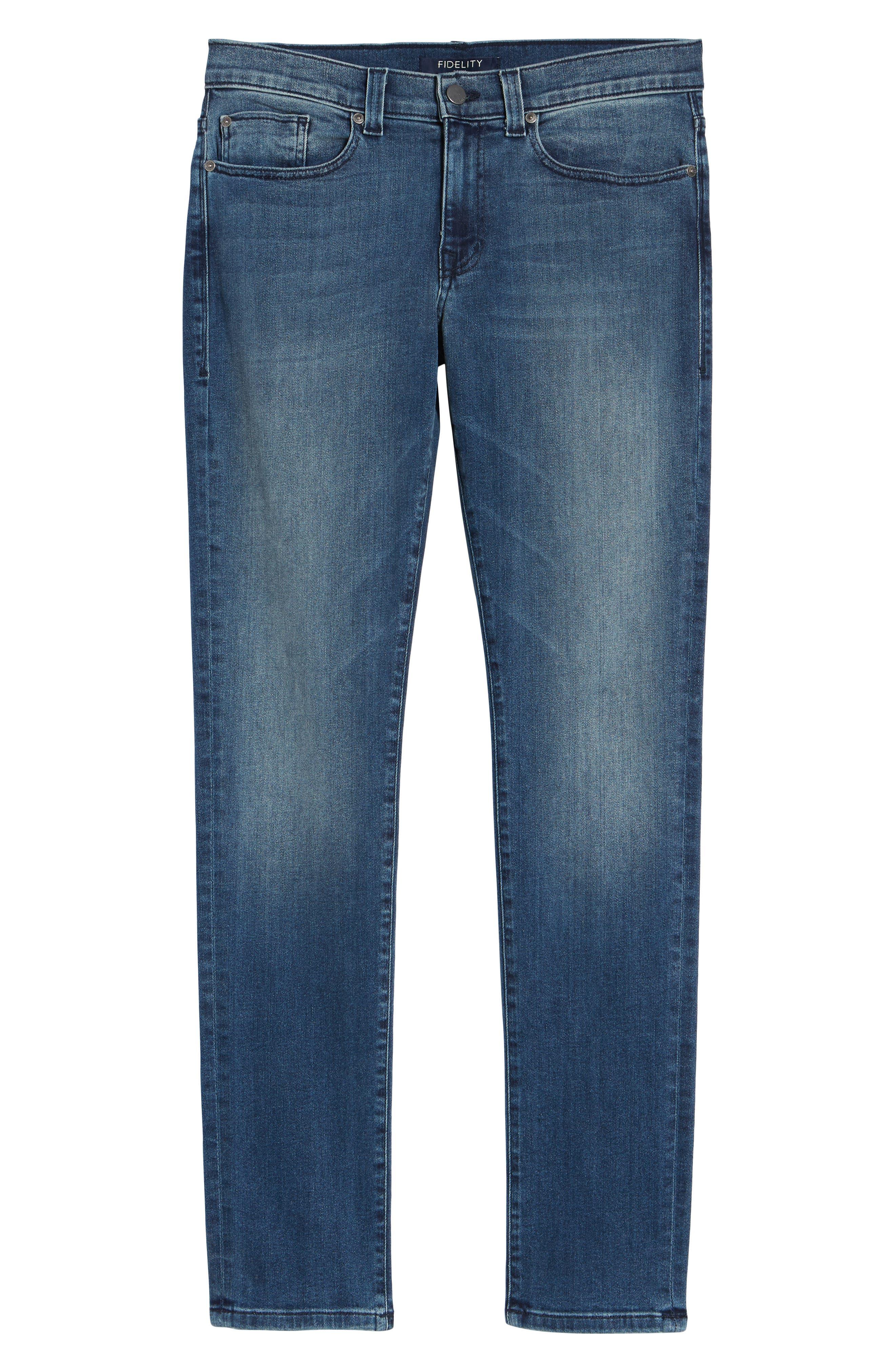 Torino Slim Fit Jeans,                             Alternate thumbnail 6, color,                             EMPIRE BLUE