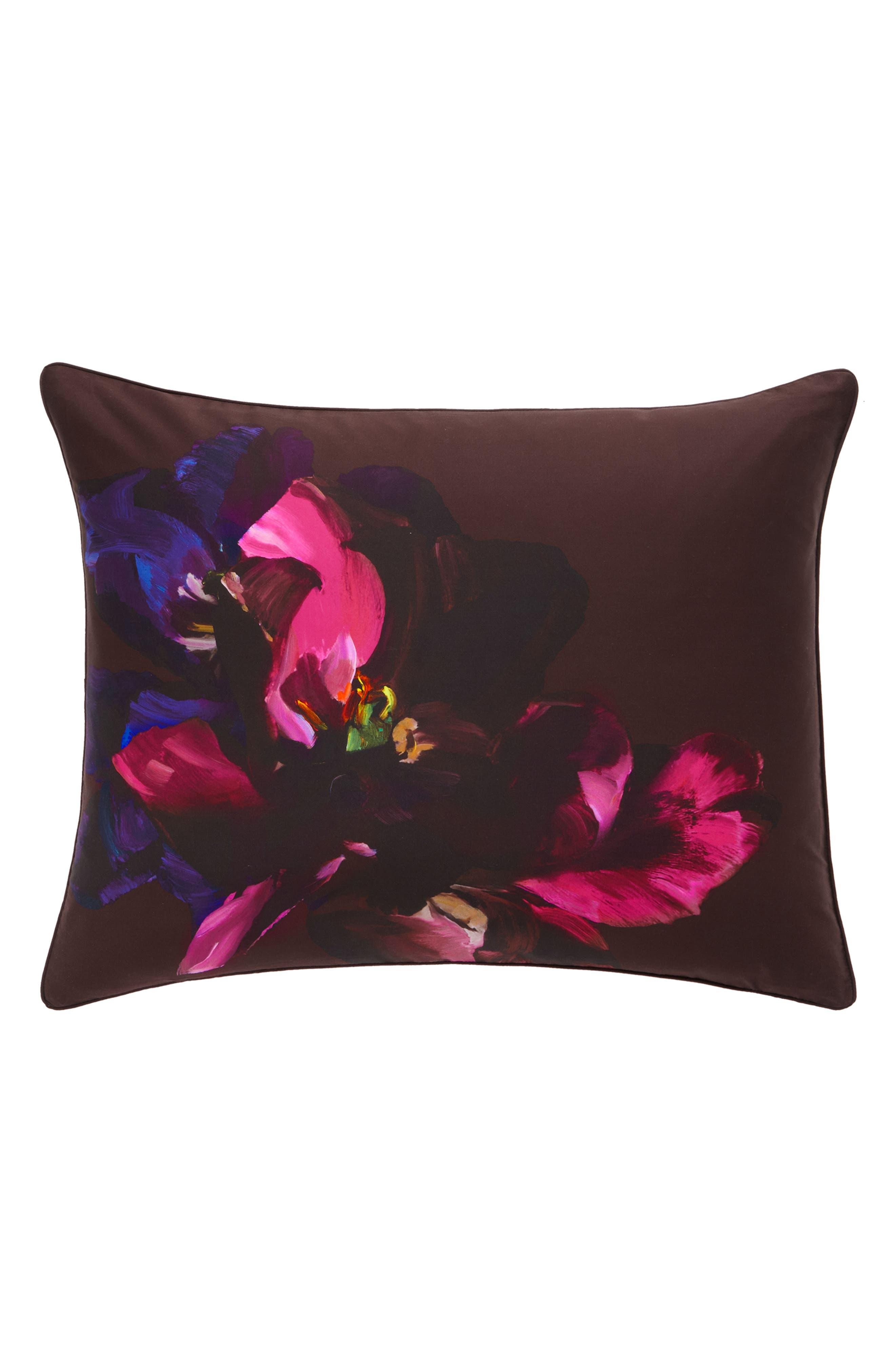 TED BAKER LONDON,                             Impressionist Bloom Comforter & Sham Set,                             Alternate thumbnail 4, color,                             650