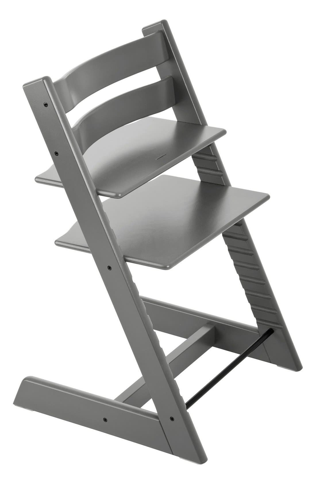 Tripp Trapp<sup>®</sup> Chair,                             Alternate thumbnail 2, color,                             GREY