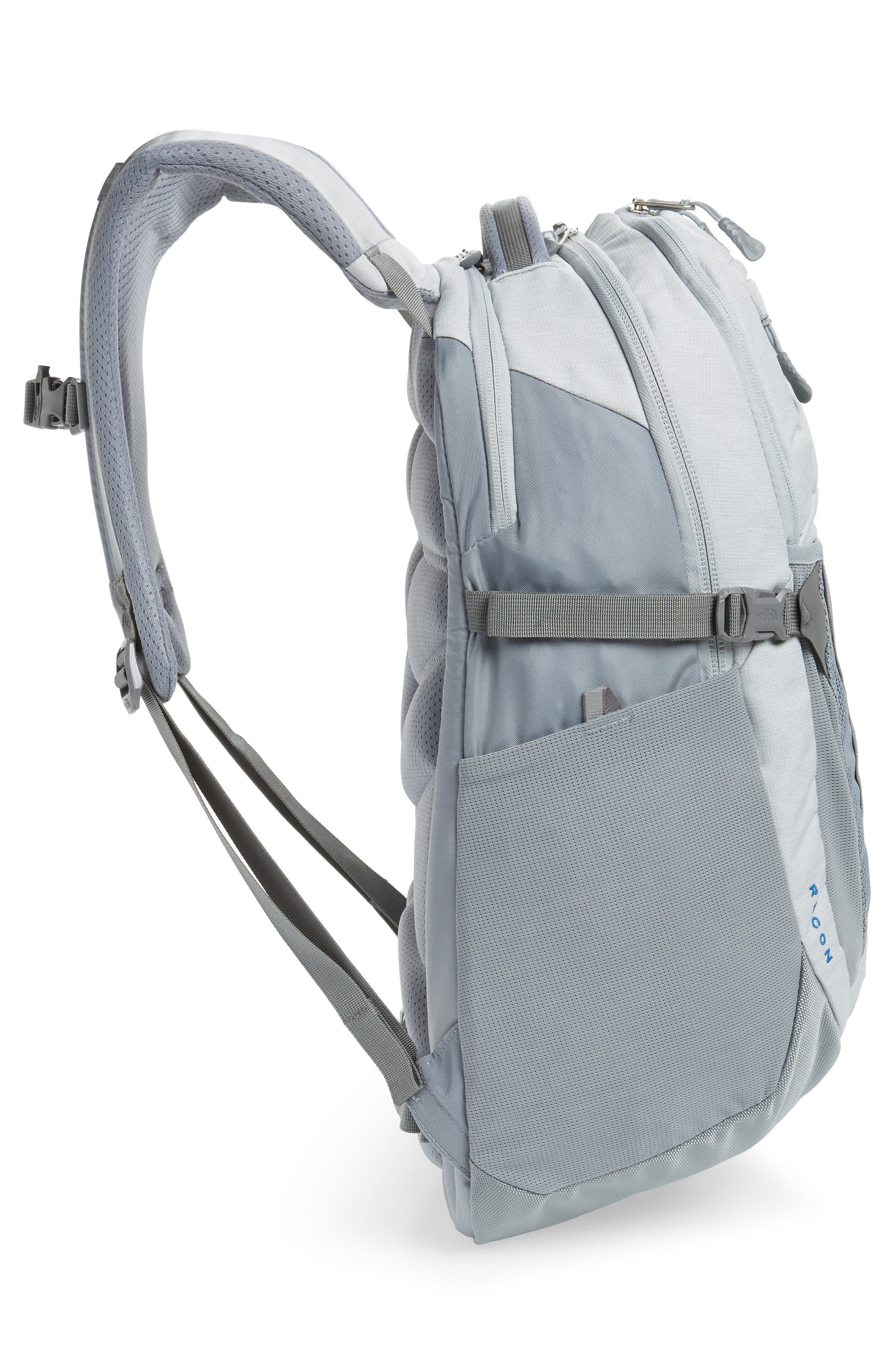 Recon Backpack,                             Alternate thumbnail 5, color,                             HIGH RISE GREY HEATHER/ GREY