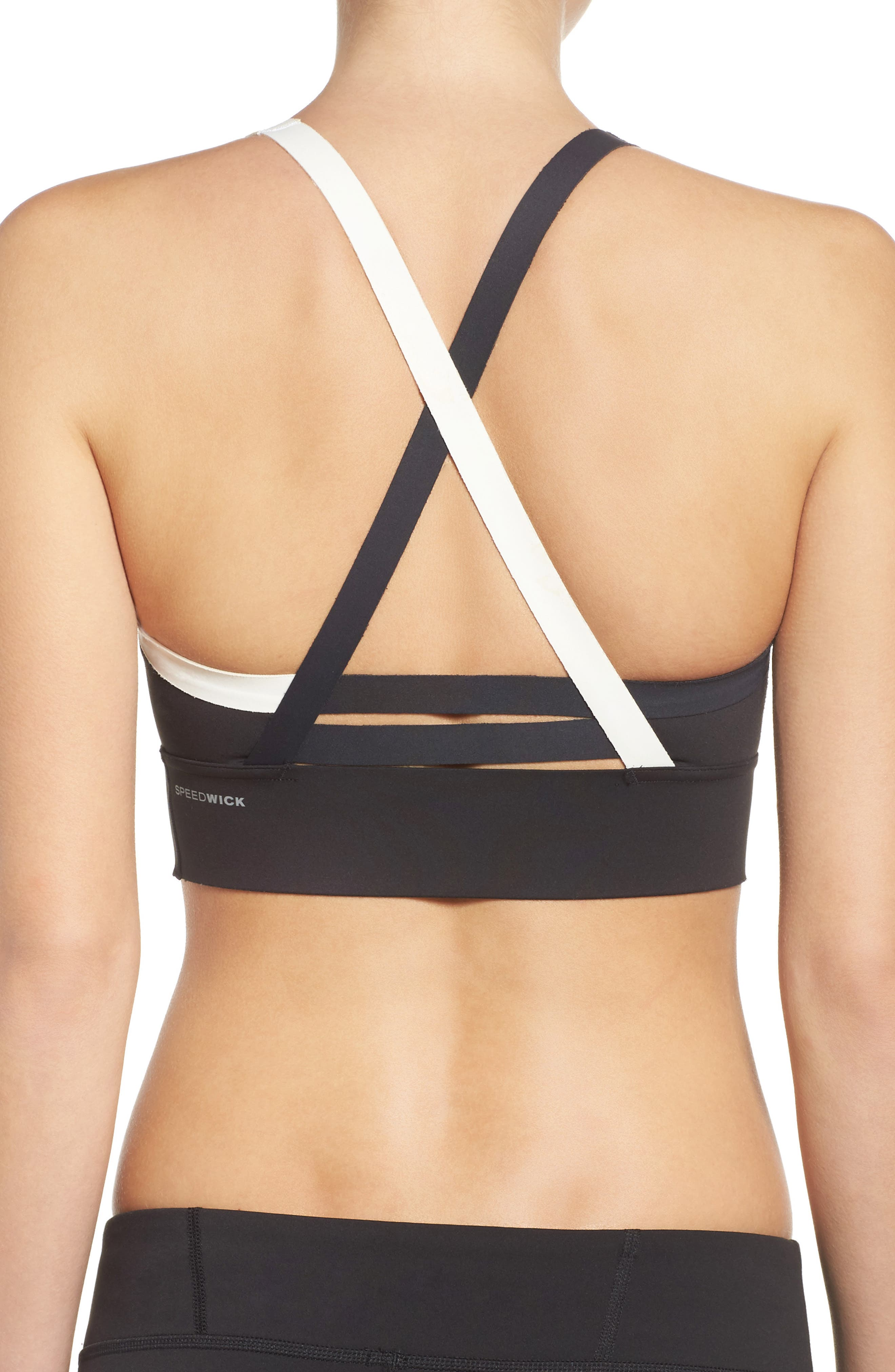 Strappy Sports Bra,                             Alternate thumbnail 2, color,                             005