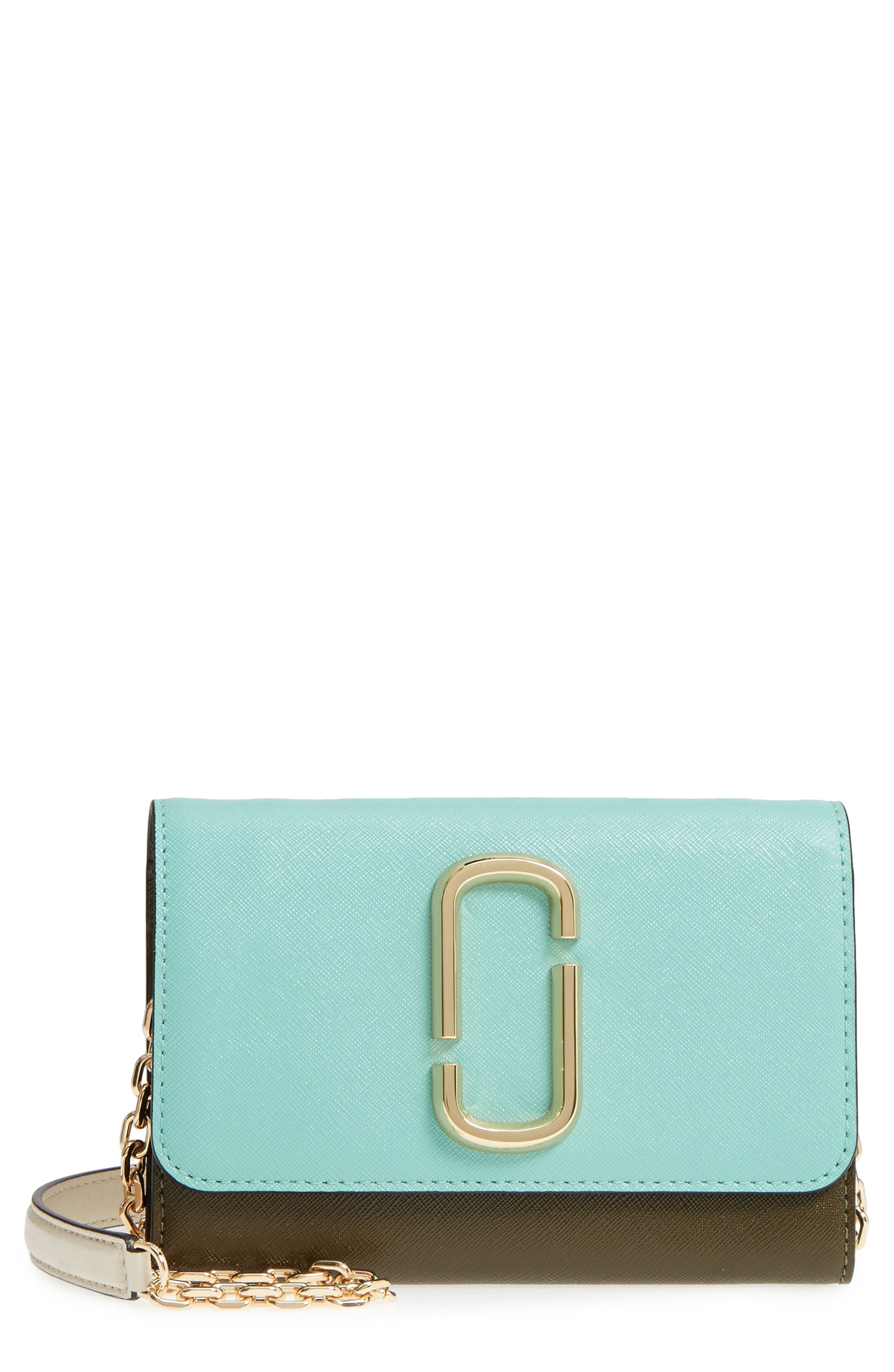 Snapshot Leather Wallet on a Chain,                             Main thumbnail 7, color,