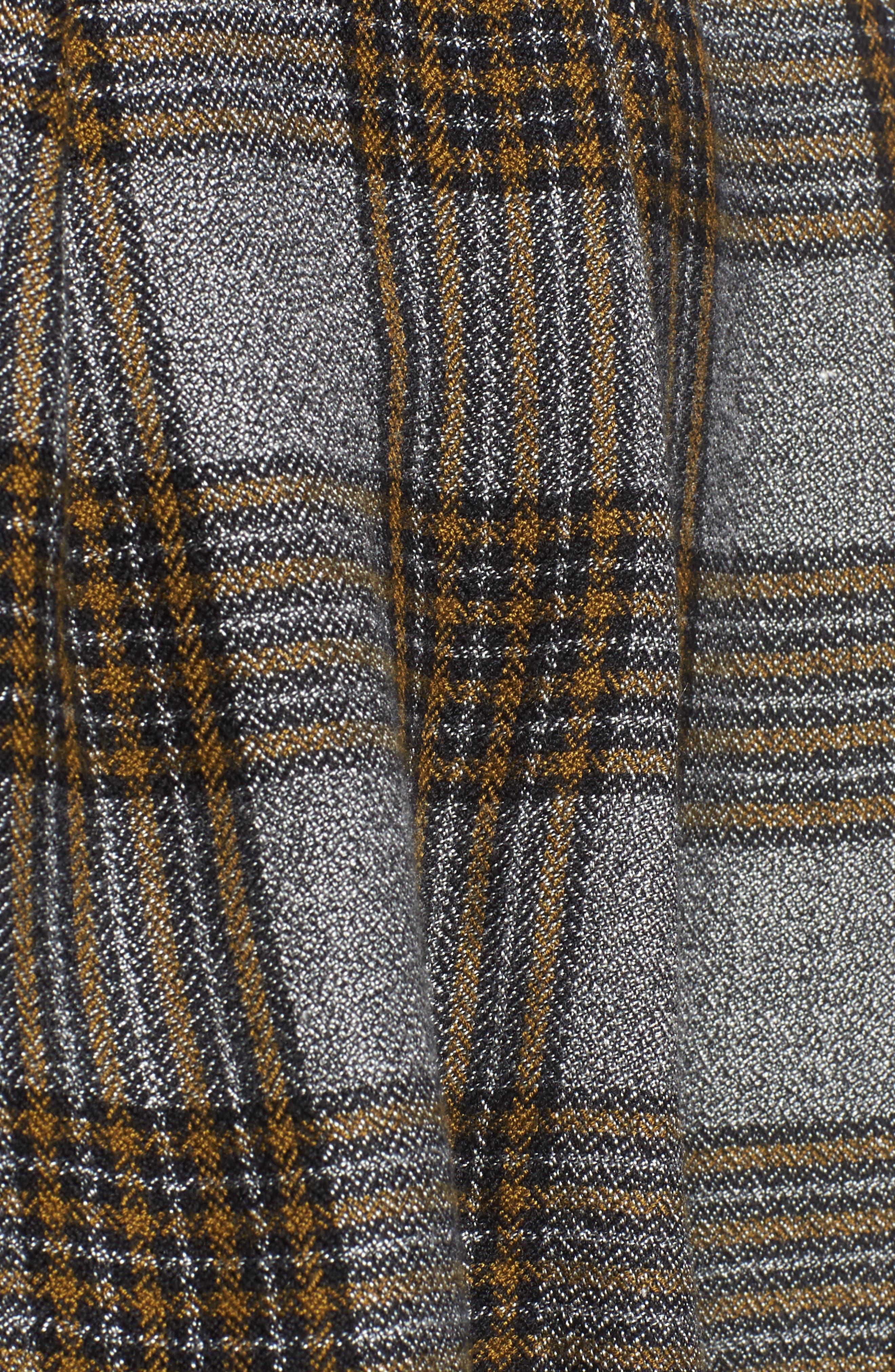 x Something Navy Tie Sleeve Top,                             Alternate thumbnail 5, color,                             300