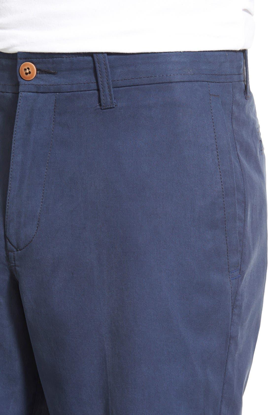 'Offshore' Flat Front Shorts,                             Alternate thumbnail 34, color,