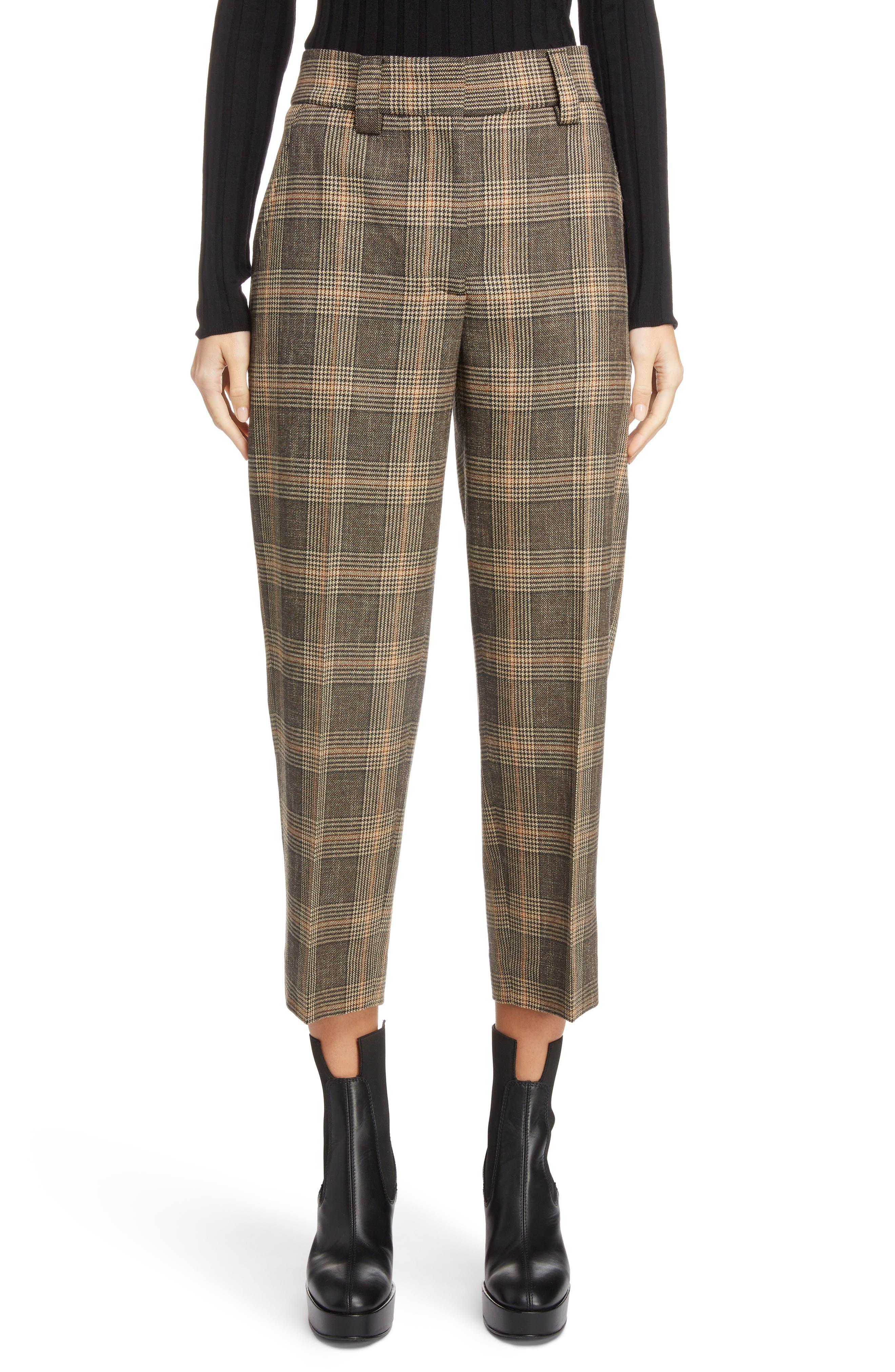 ddf57db1edd Acne Studios Tapered Trousers Brown Beige