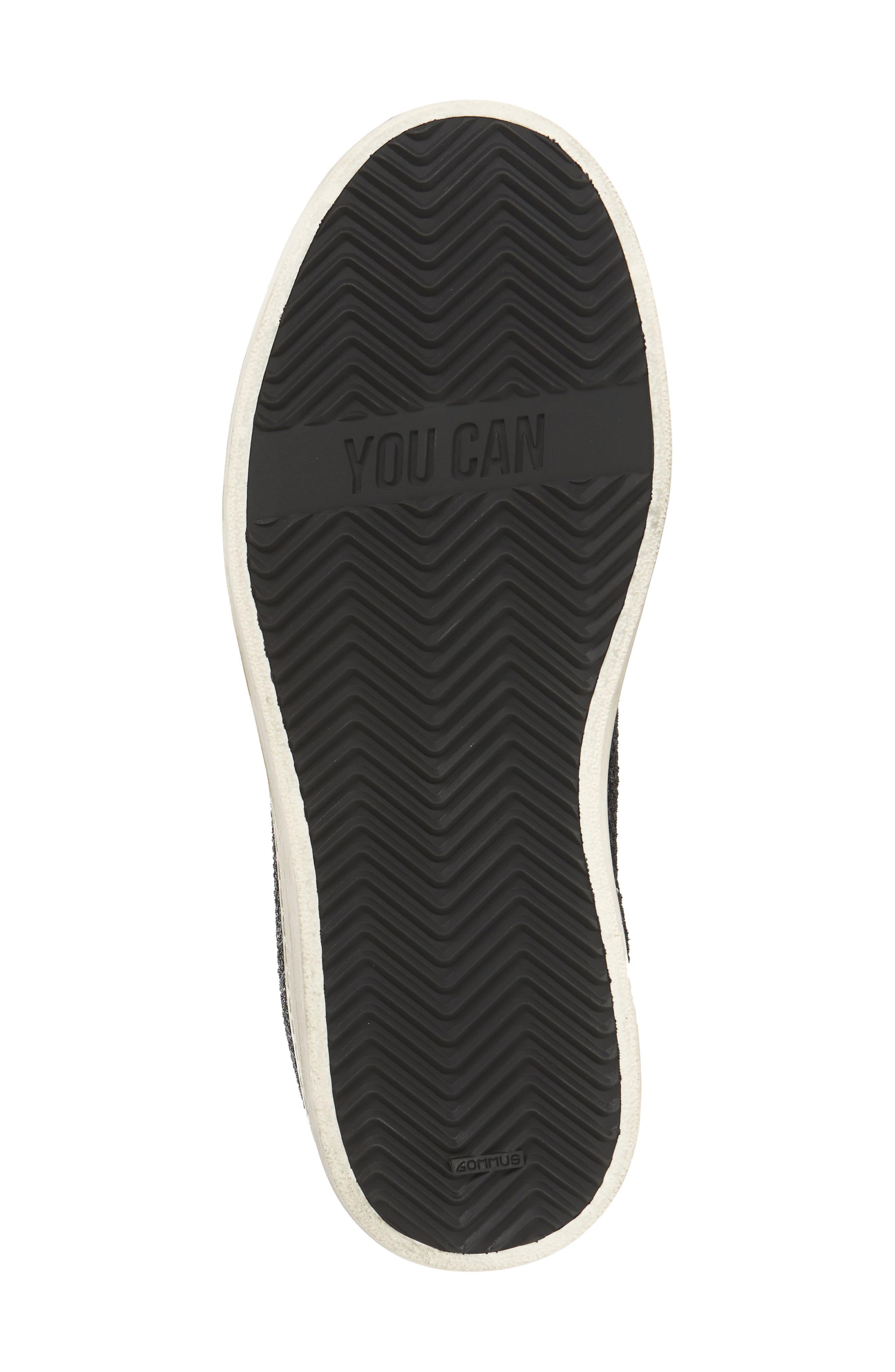 John Sneaker,                             Alternate thumbnail 6, color,                             GLITTER TECHNICAL MESH