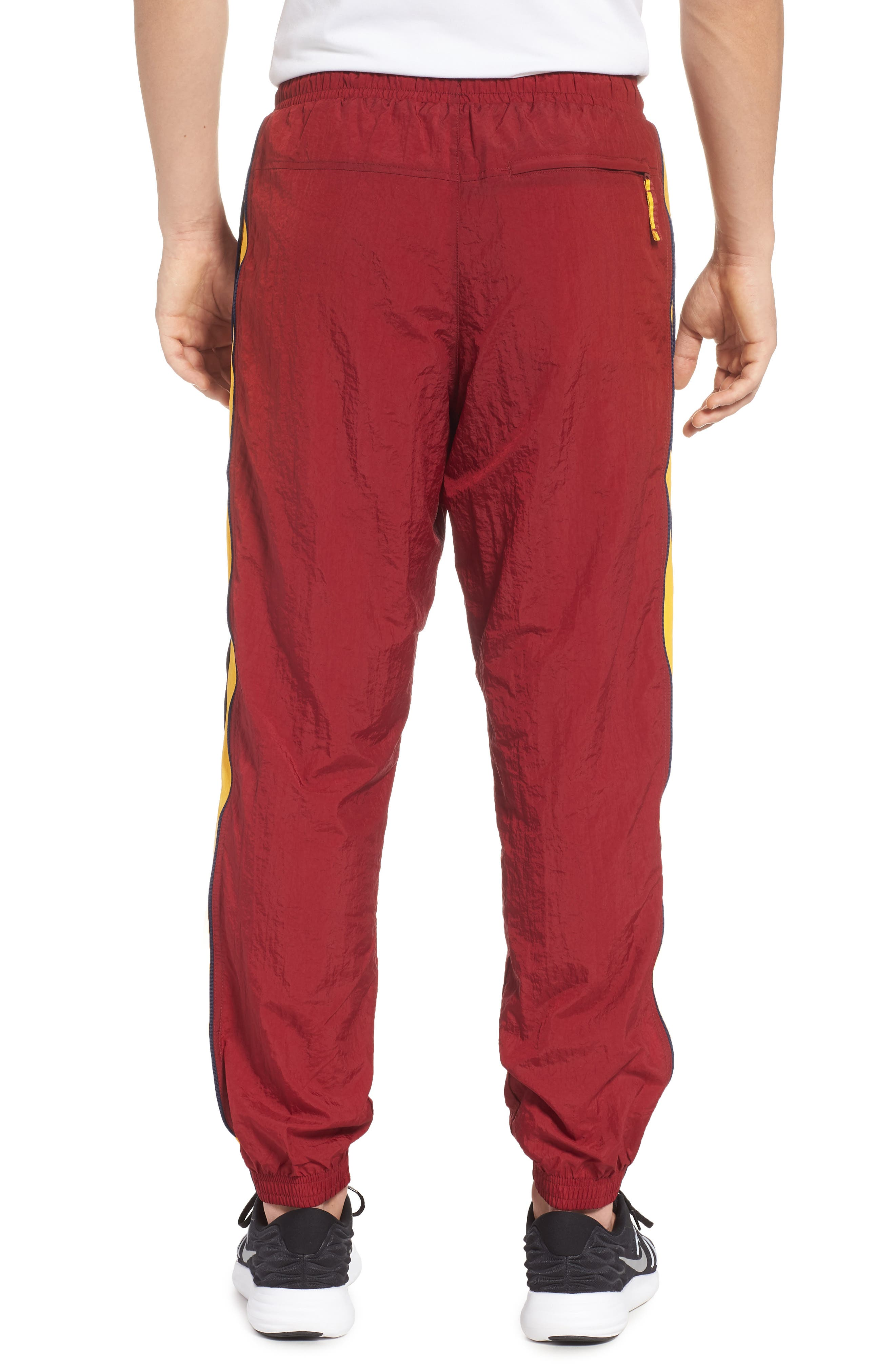 Cleveland Cavaliers Tracksuit Pants,                             Alternate thumbnail 2, color,                             TEAM RED/ UNIVERSITY GOLD