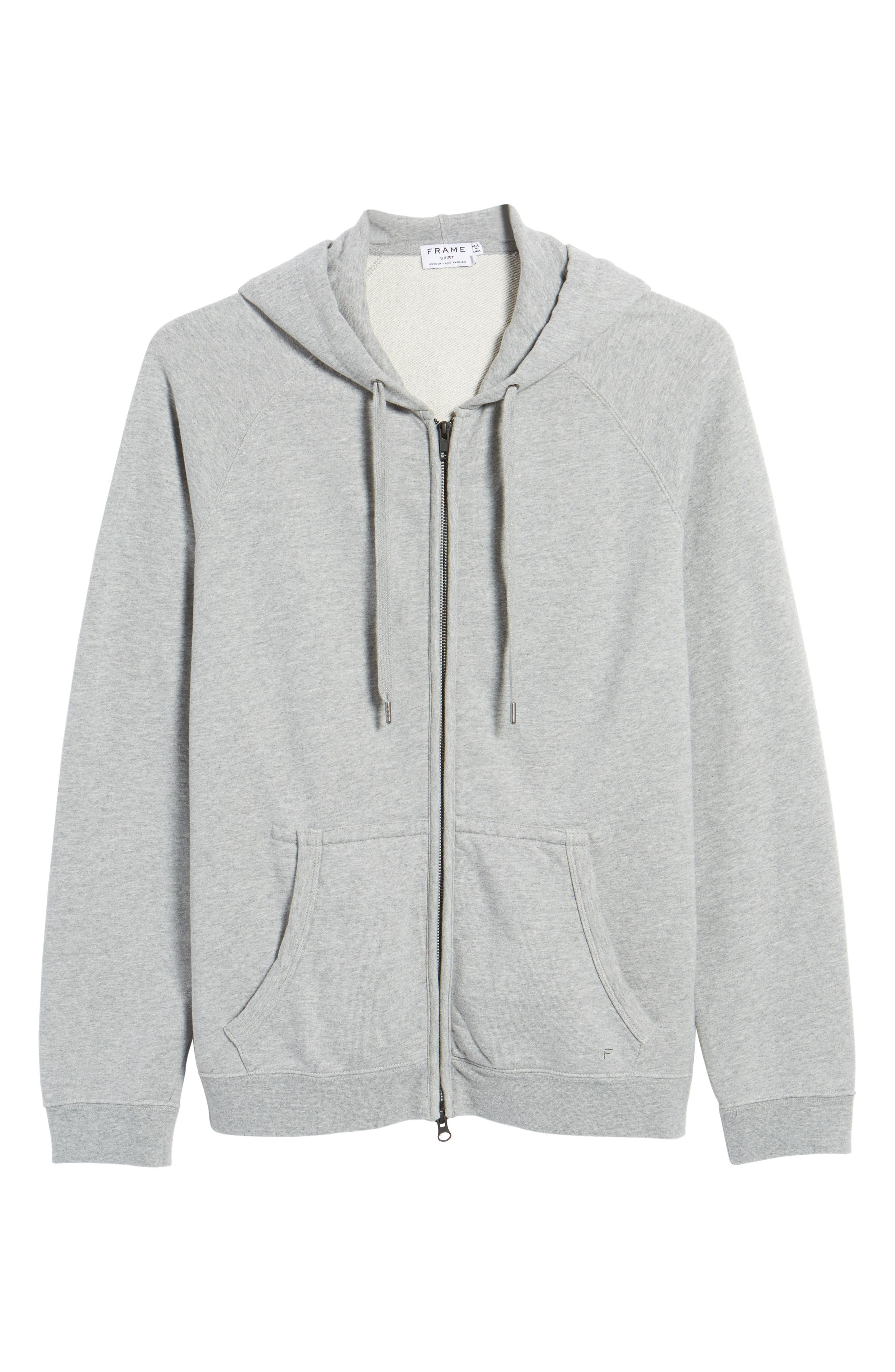 French Terry Sweatshirt,                             Alternate thumbnail 6, color,                             001