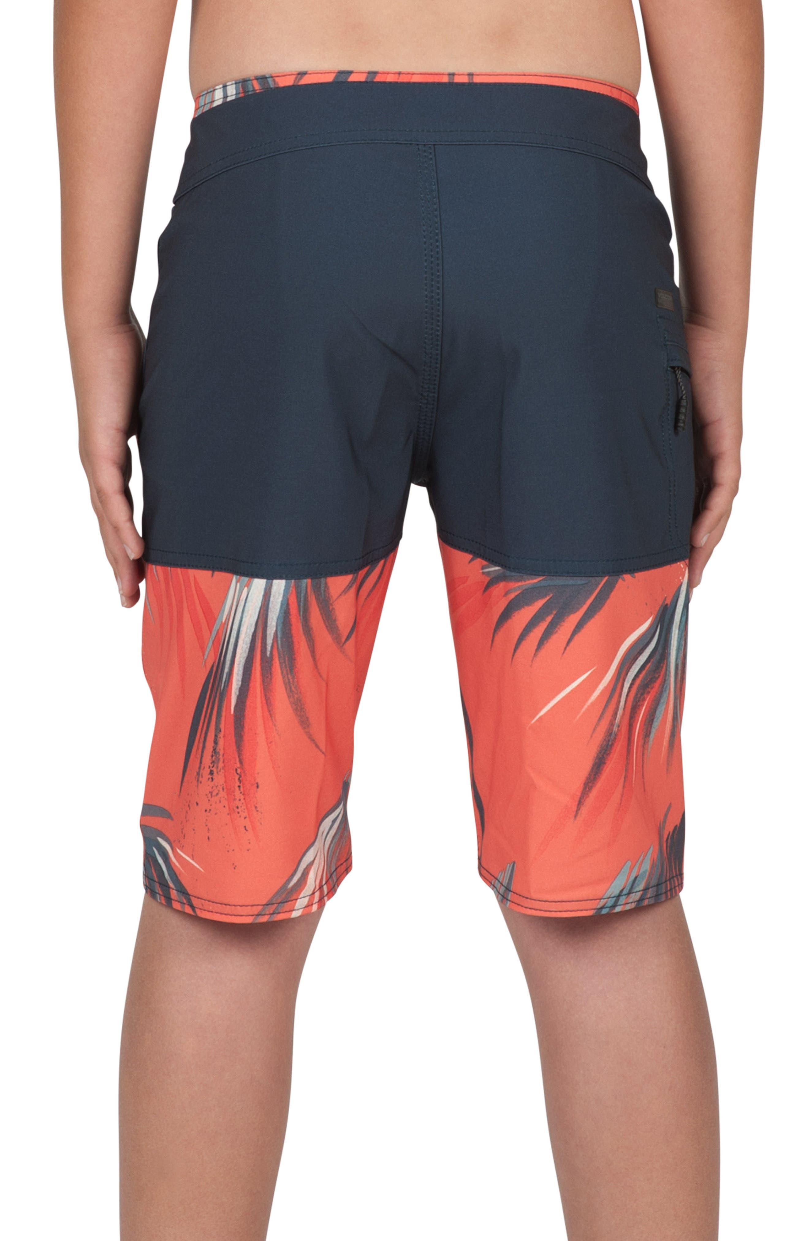 Asymmetrical Mod Board Shorts,                             Alternate thumbnail 2, color,                             400