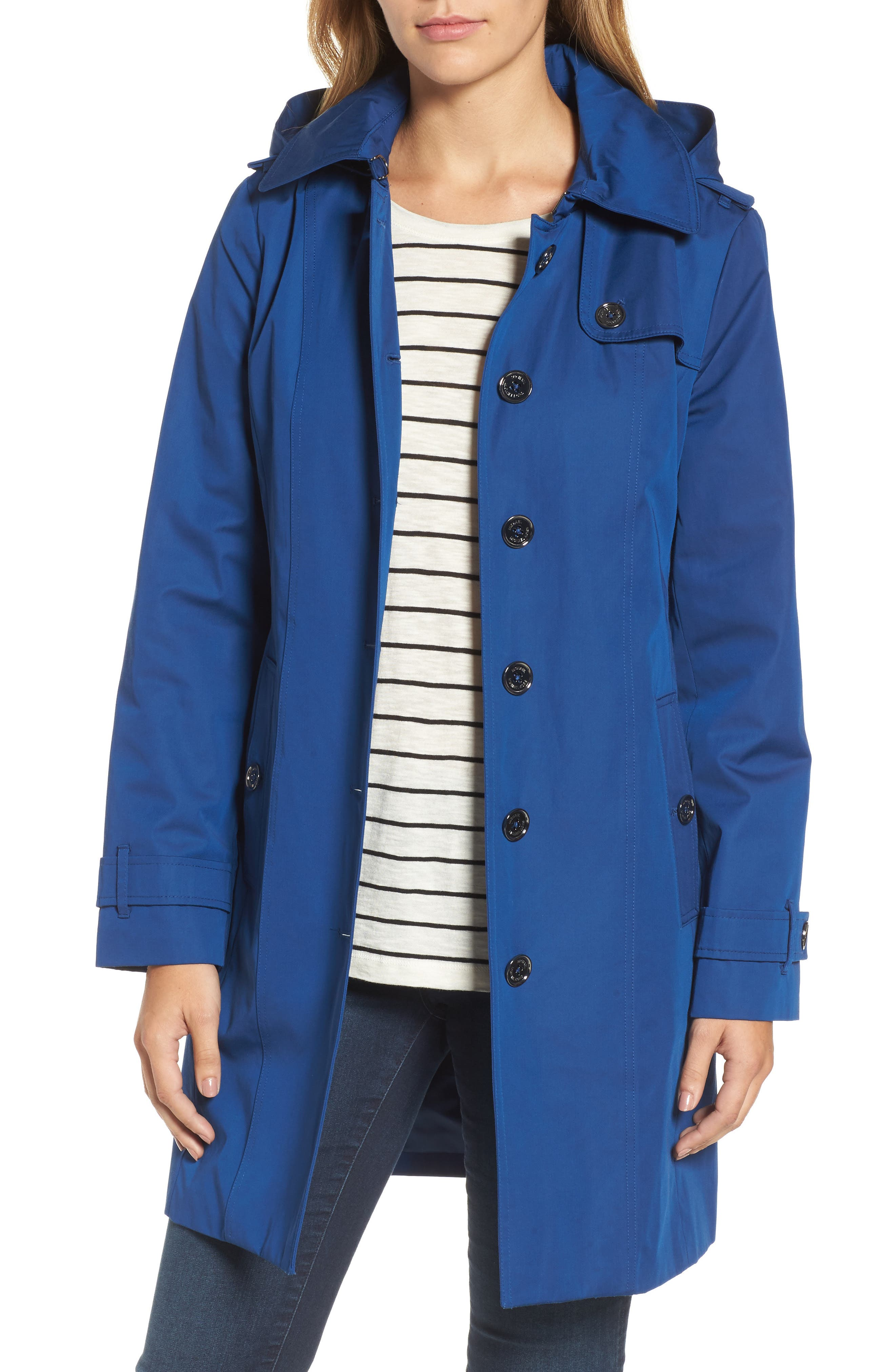 Core Trench Coat with Removable Hood & Liner,                             Main thumbnail 1, color,                             431