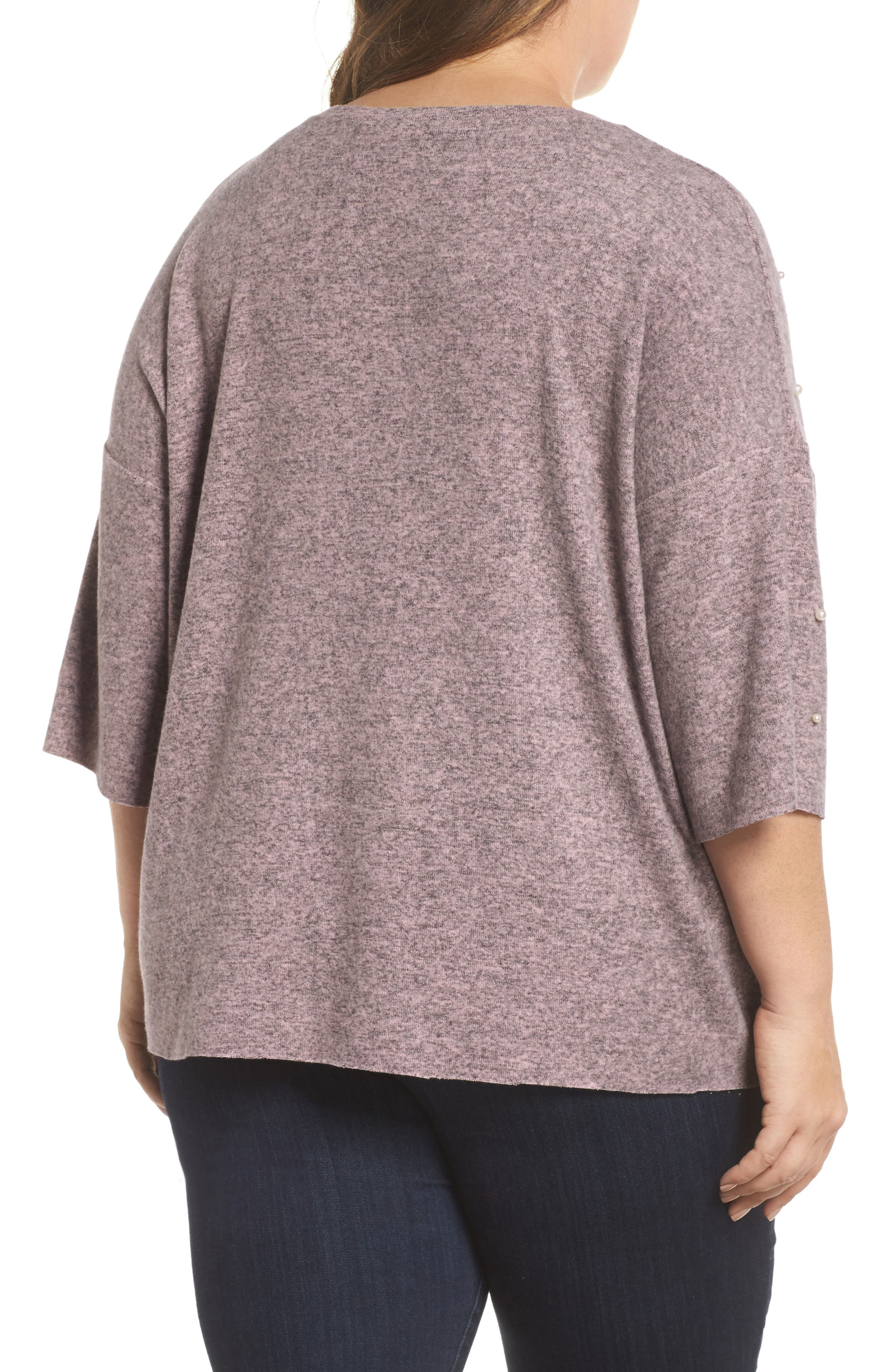Pearl Embellished Sweater,                             Alternate thumbnail 2, color,                             020