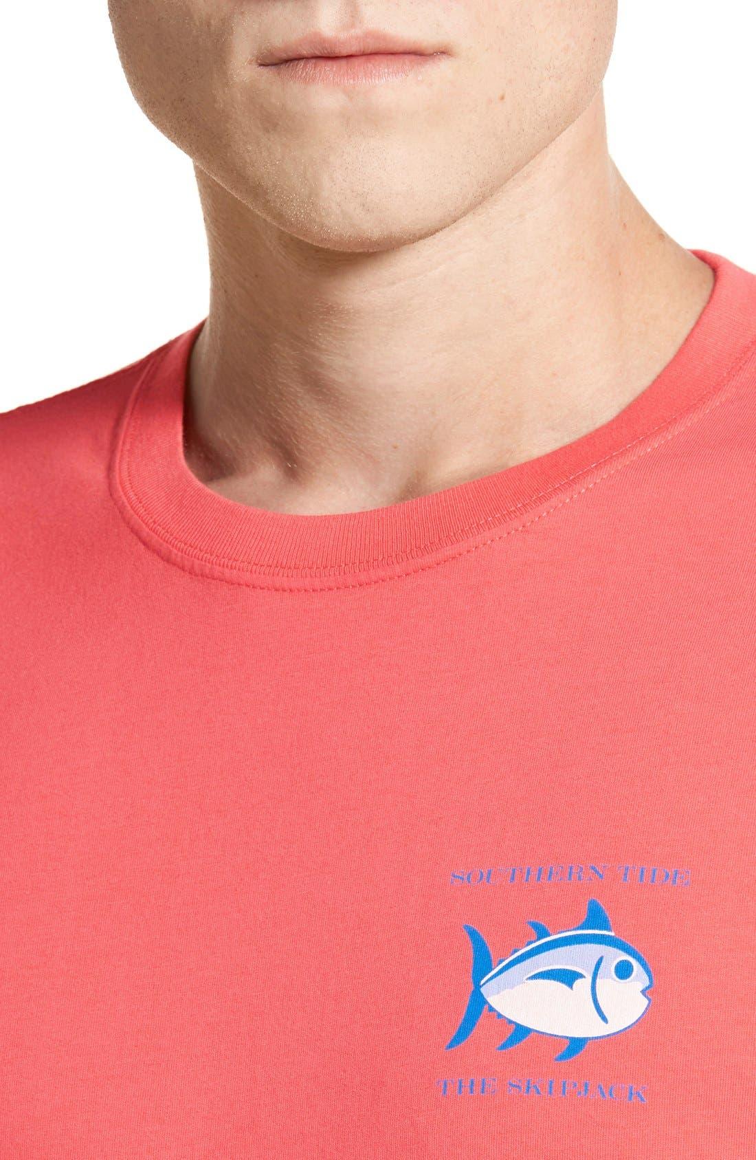'Skipjack'Long Sleeve Graphic T-Shirt,                             Alternate thumbnail 42, color,