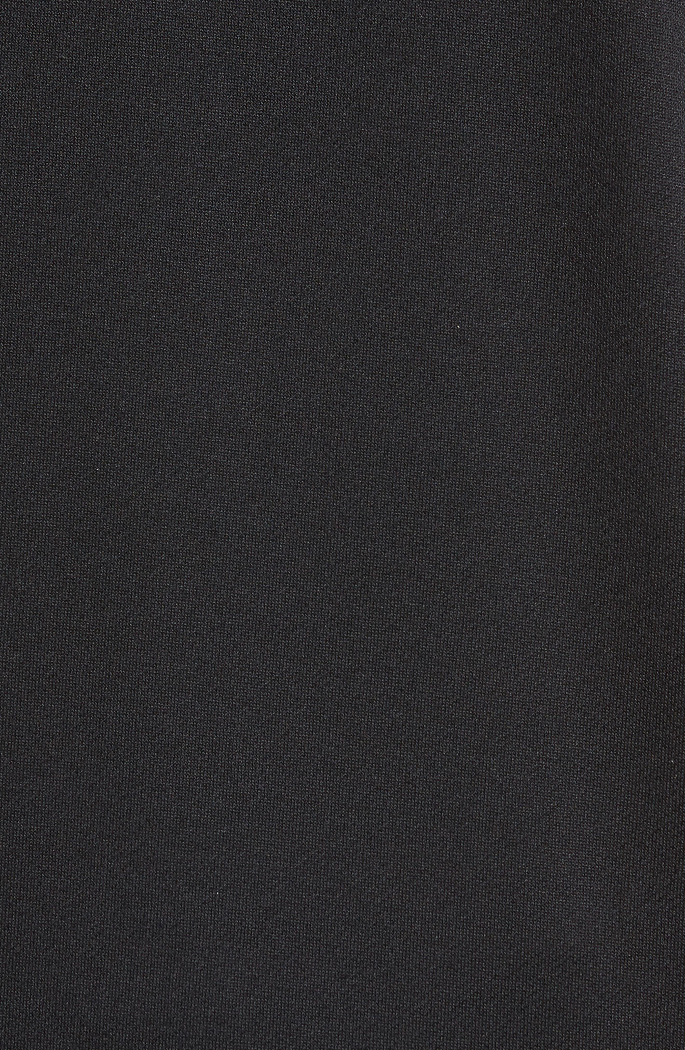 Training Dry Top PX Sleeveless Hoodie,                             Alternate thumbnail 5, color,                             BLACK/ BLACK/ WHITE
