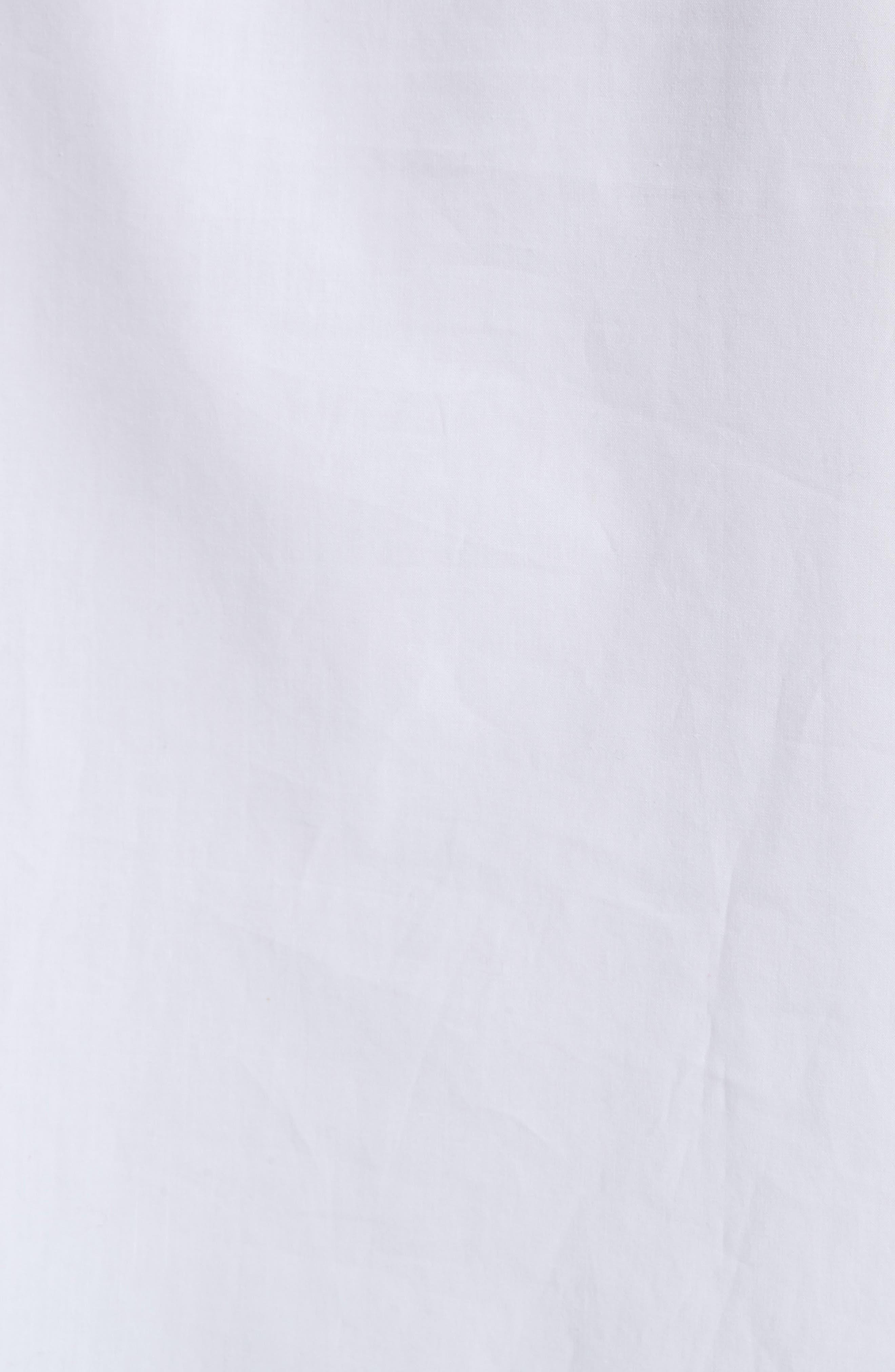 Sophie Tie Sleeve Cotton Blouse,                             Alternate thumbnail 5, color,