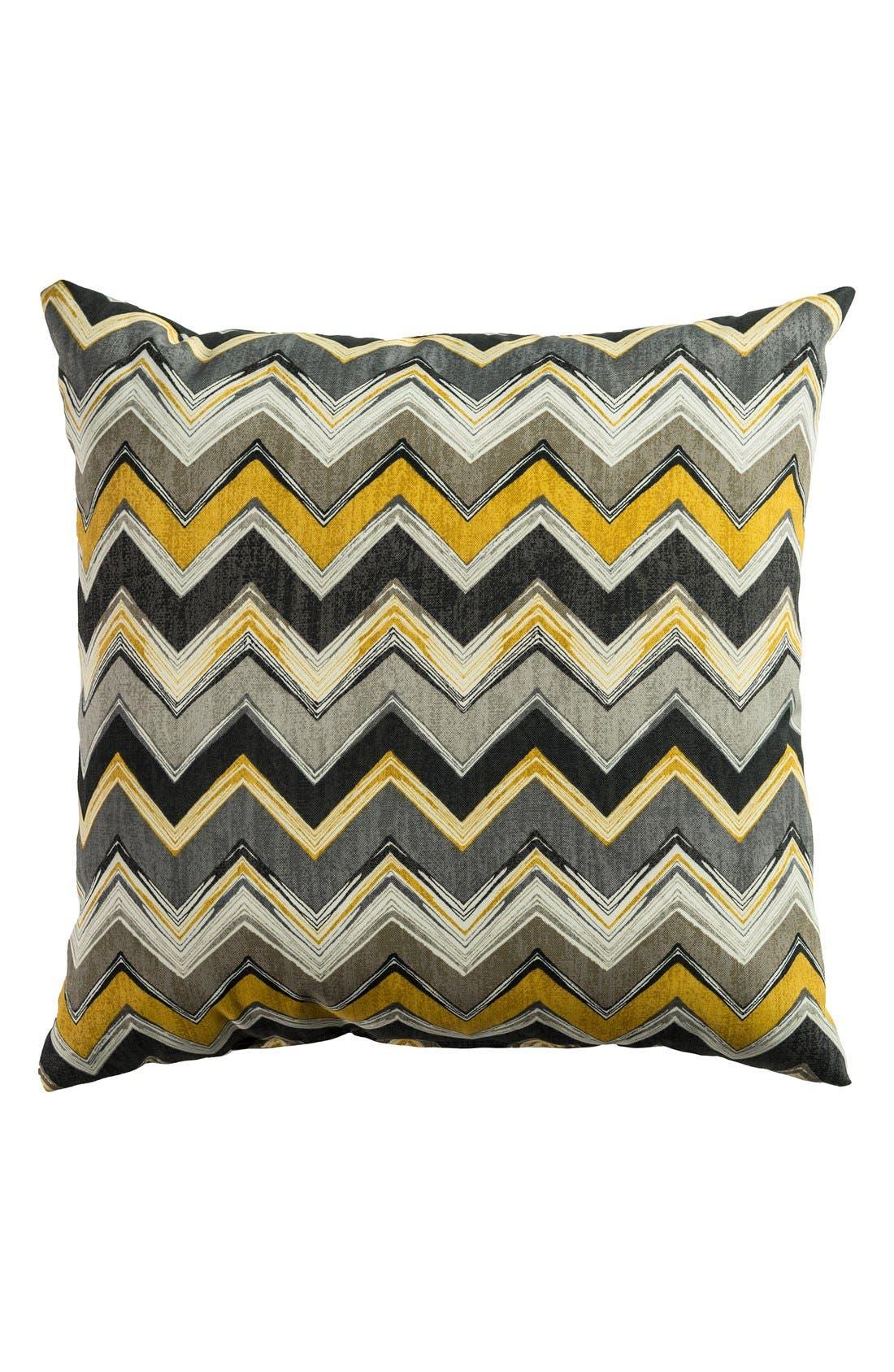 Chevron Outdoor Pillow,                             Main thumbnail 7, color,