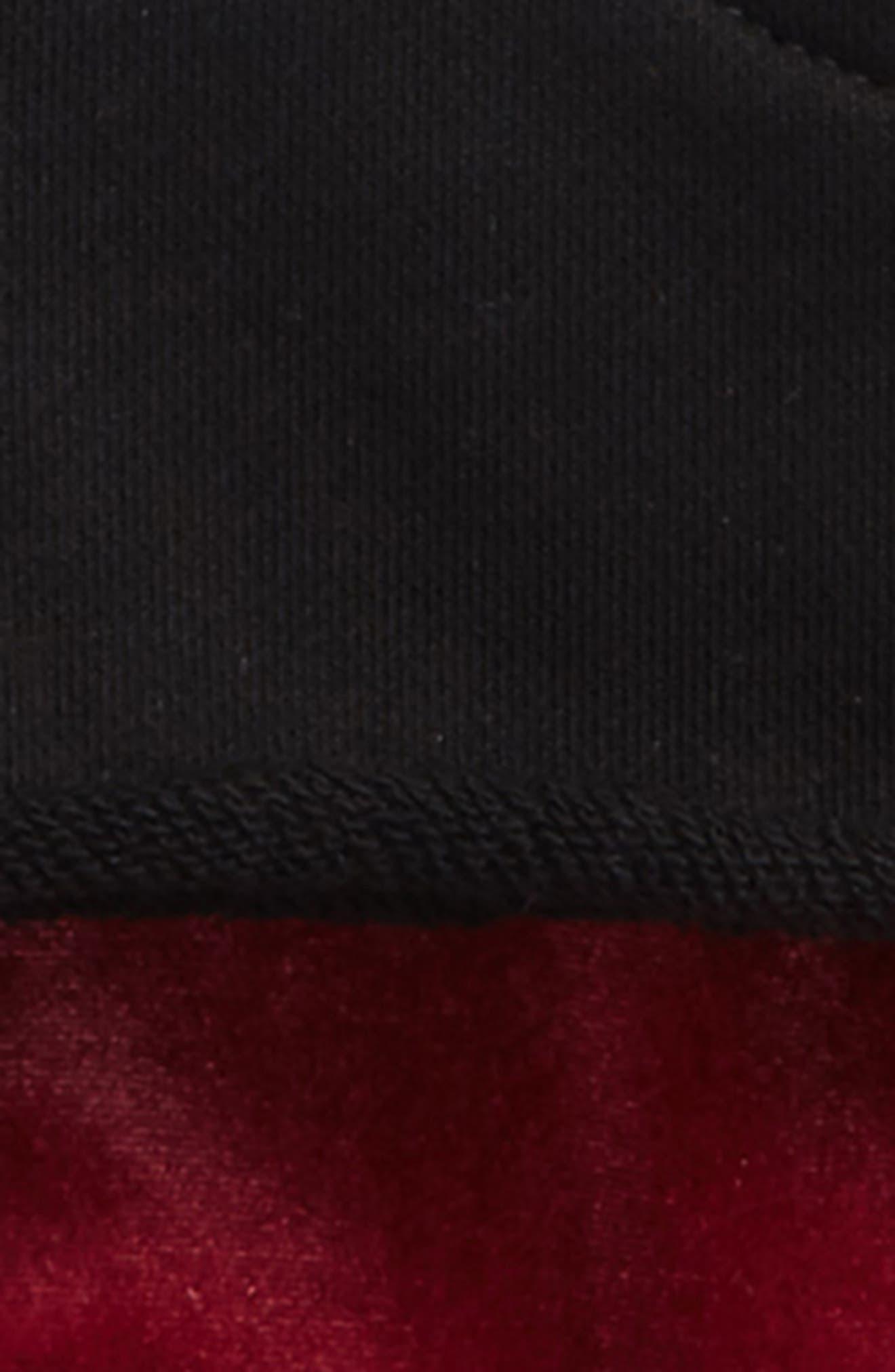 French Terry Dress & Velour Leggings Set,                             Alternate thumbnail 2, color,                             001