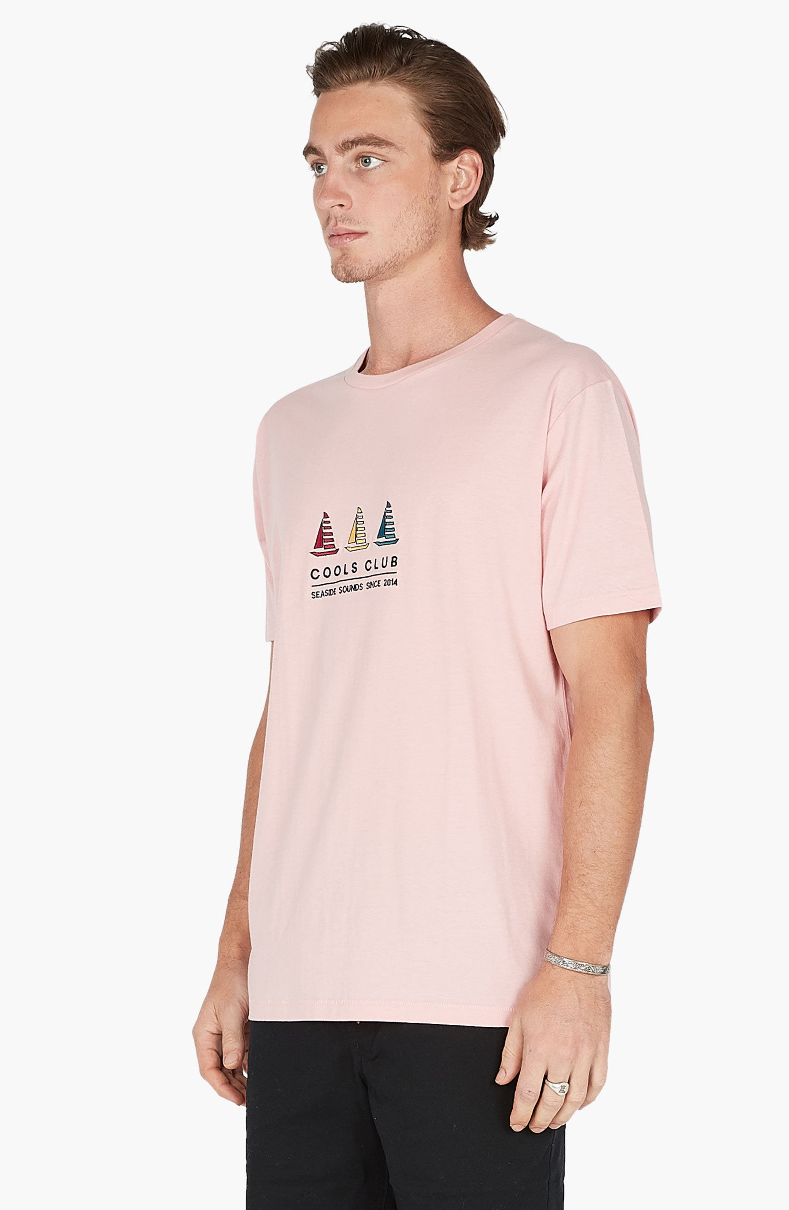 Embroidered Cools Club T-Shirt,                             Alternate thumbnail 4, color,                             680
