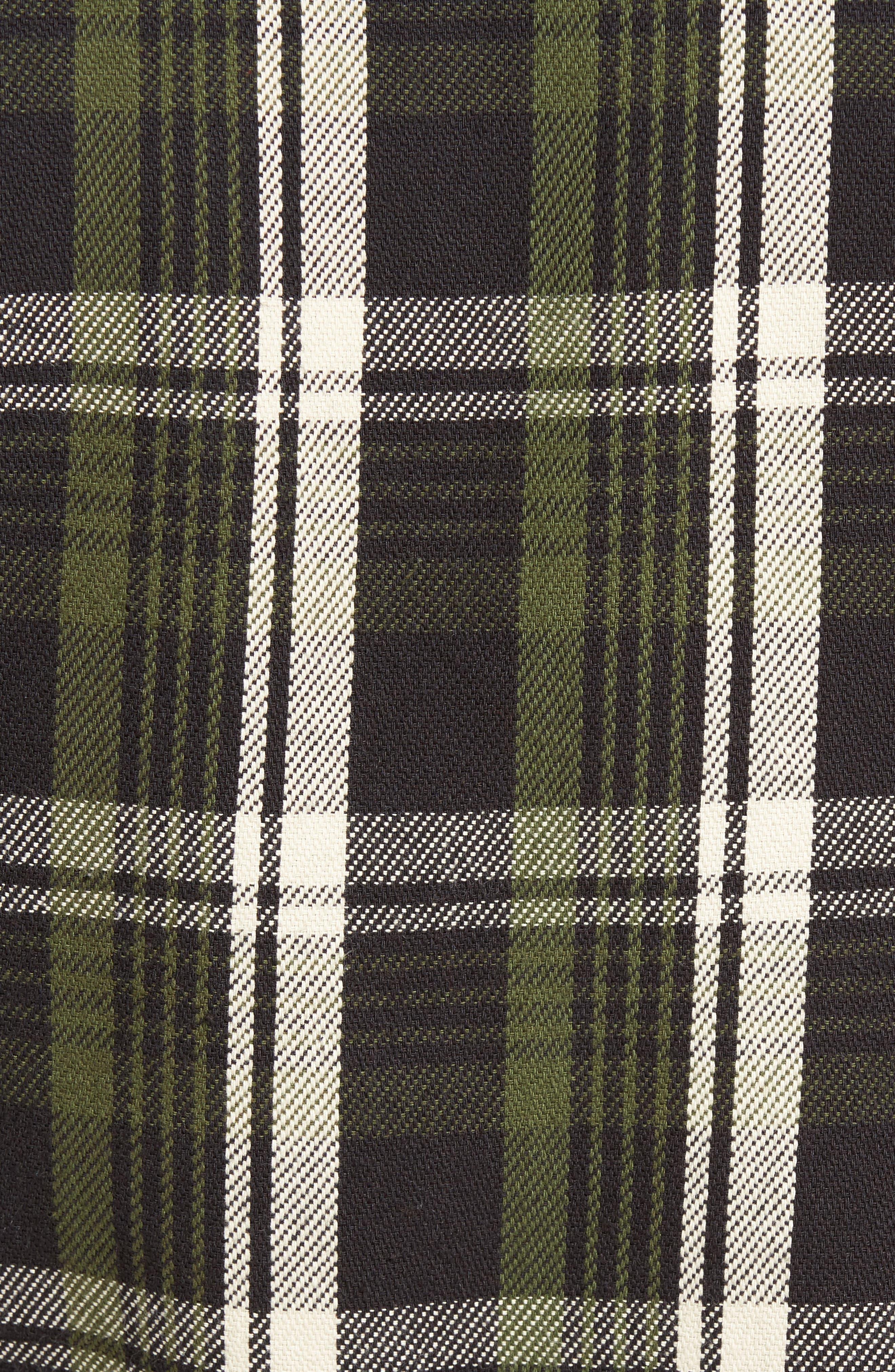 Classic Fit Plaid Flannel Shirt,                             Alternate thumbnail 16, color,