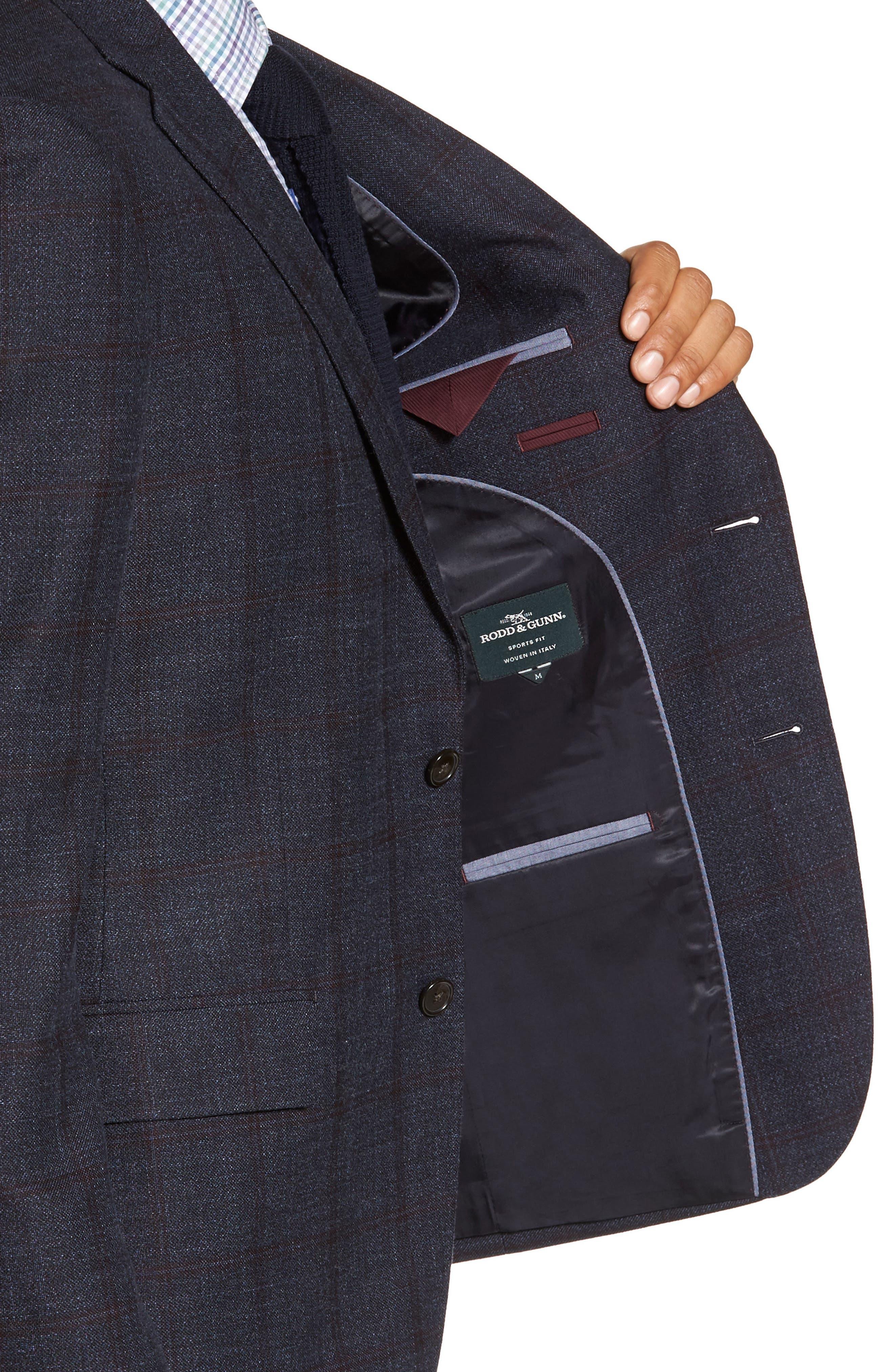 Glenside Wool Blend Sport Coat,                             Alternate thumbnail 3, color,                             411