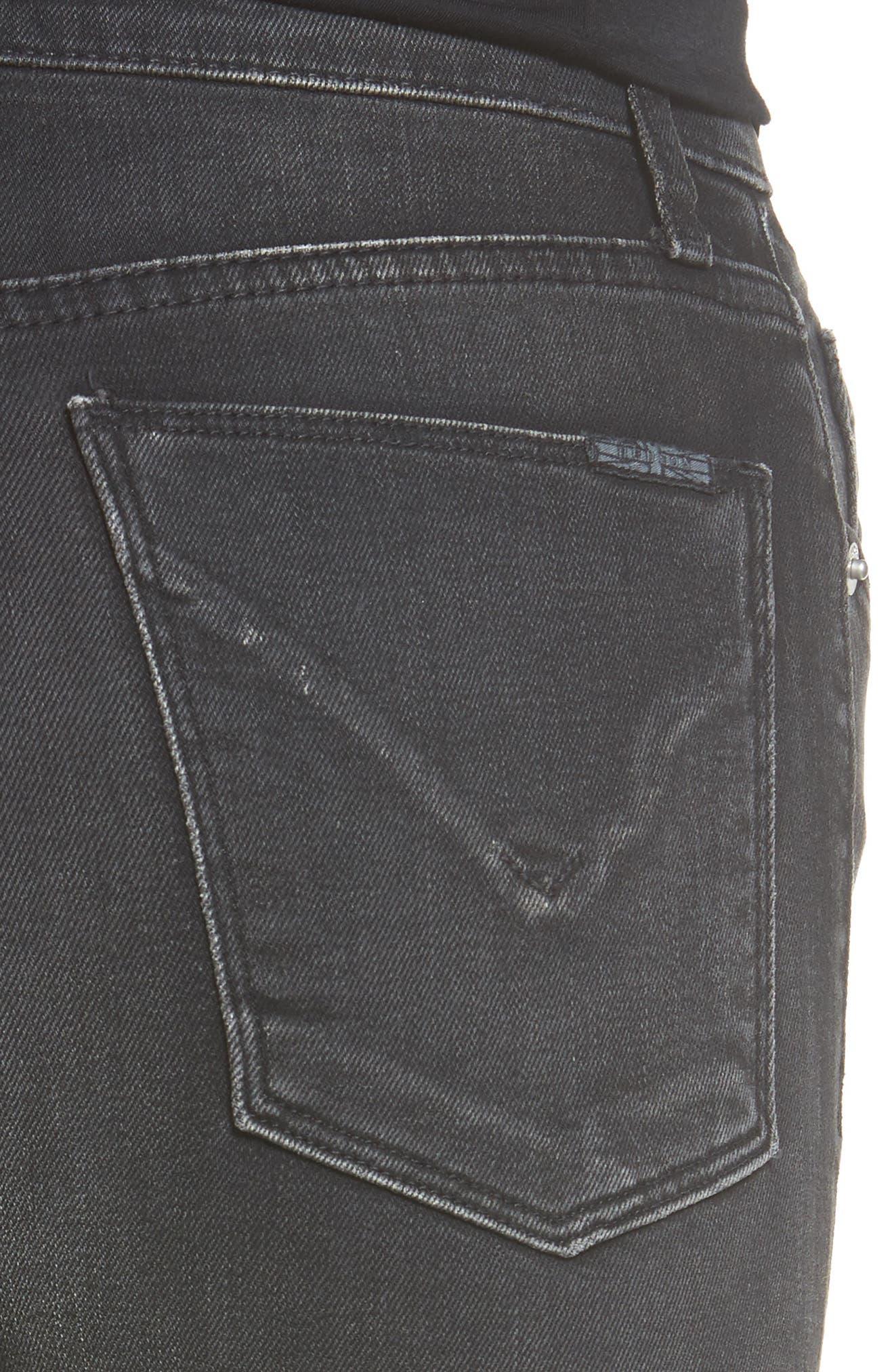 Heartbreaker High Waist Bootcut Jeans,                             Alternate thumbnail 5, color,