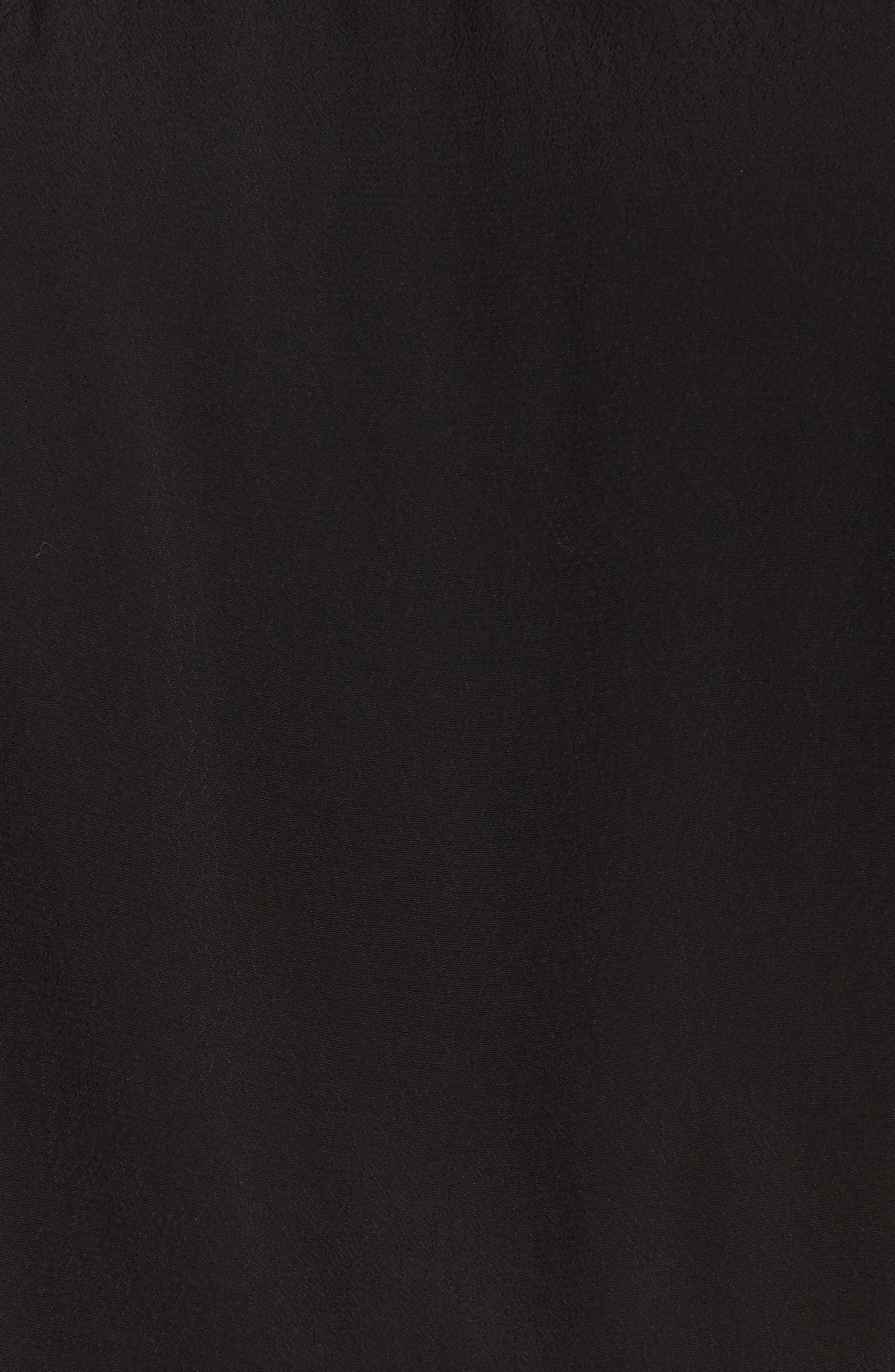 Off the Shoulder Jumpsuit,                             Alternate thumbnail 6, color,                             BLACK