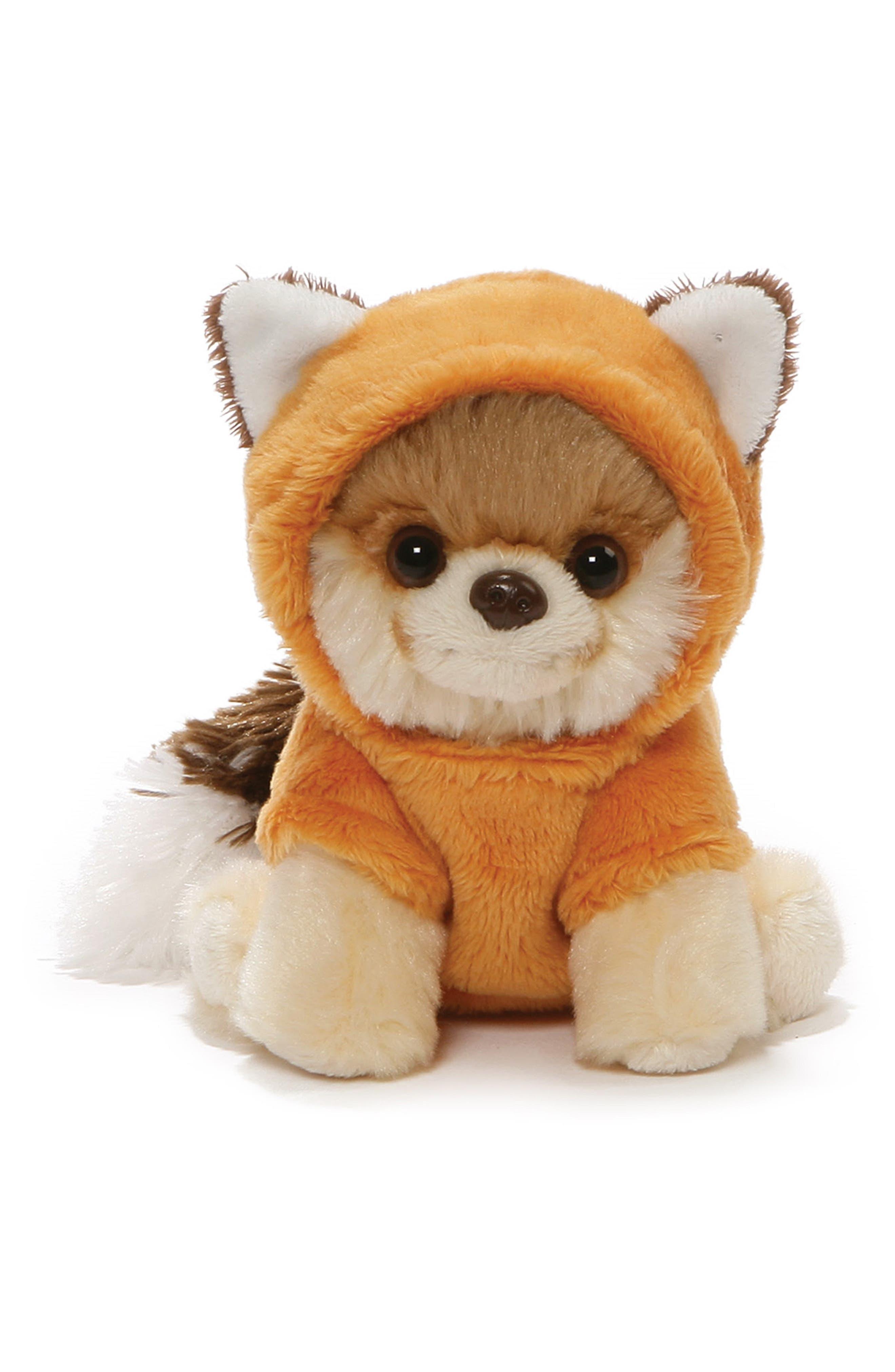 Itty Bitty Boo Fox Stuffed Animal,                             Main thumbnail 1, color,                             TAN