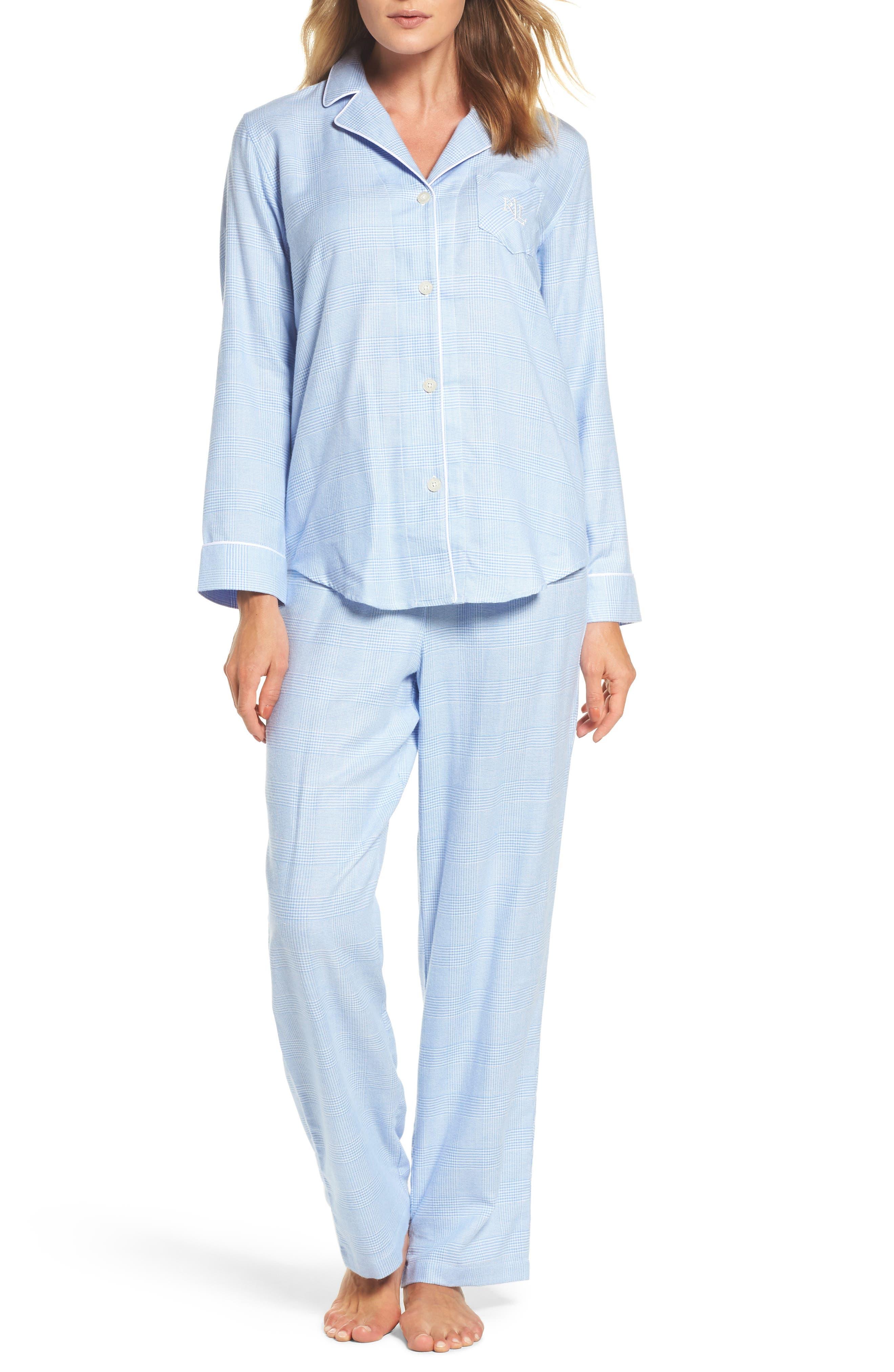 Long Pajamas,                             Main thumbnail 1, color,                             410