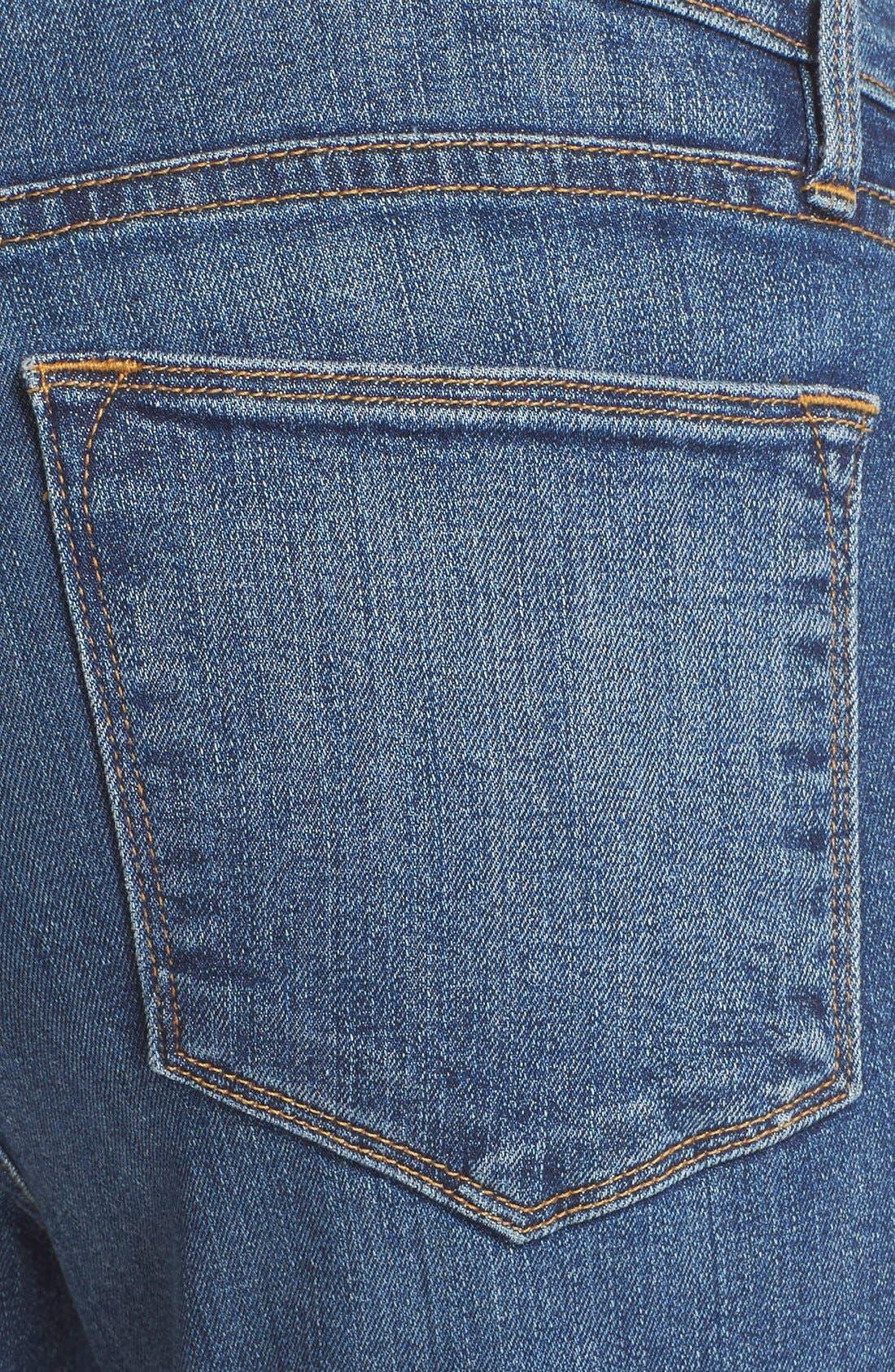 'Le High Flare' Jeans,                             Alternate thumbnail 8, color,